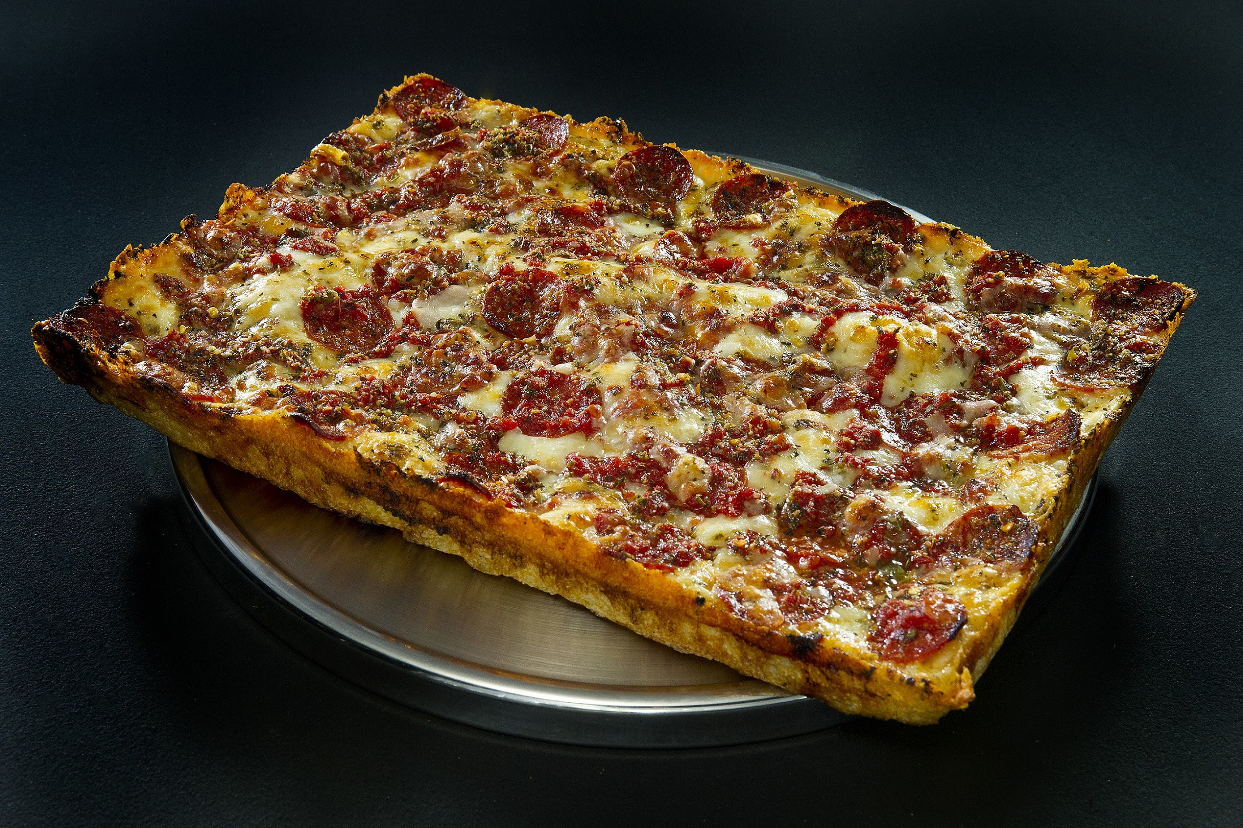 Buddy's Detroit-style pizza.