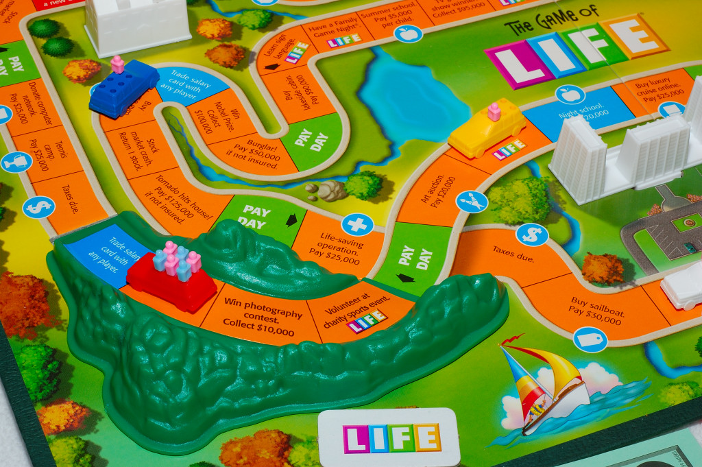 A more recent version of the game of Life.
