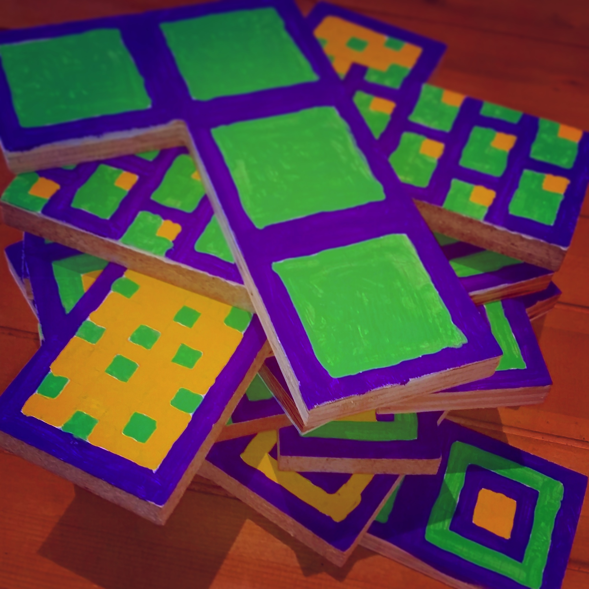 A game that combines Tetris, Jenga and Twine