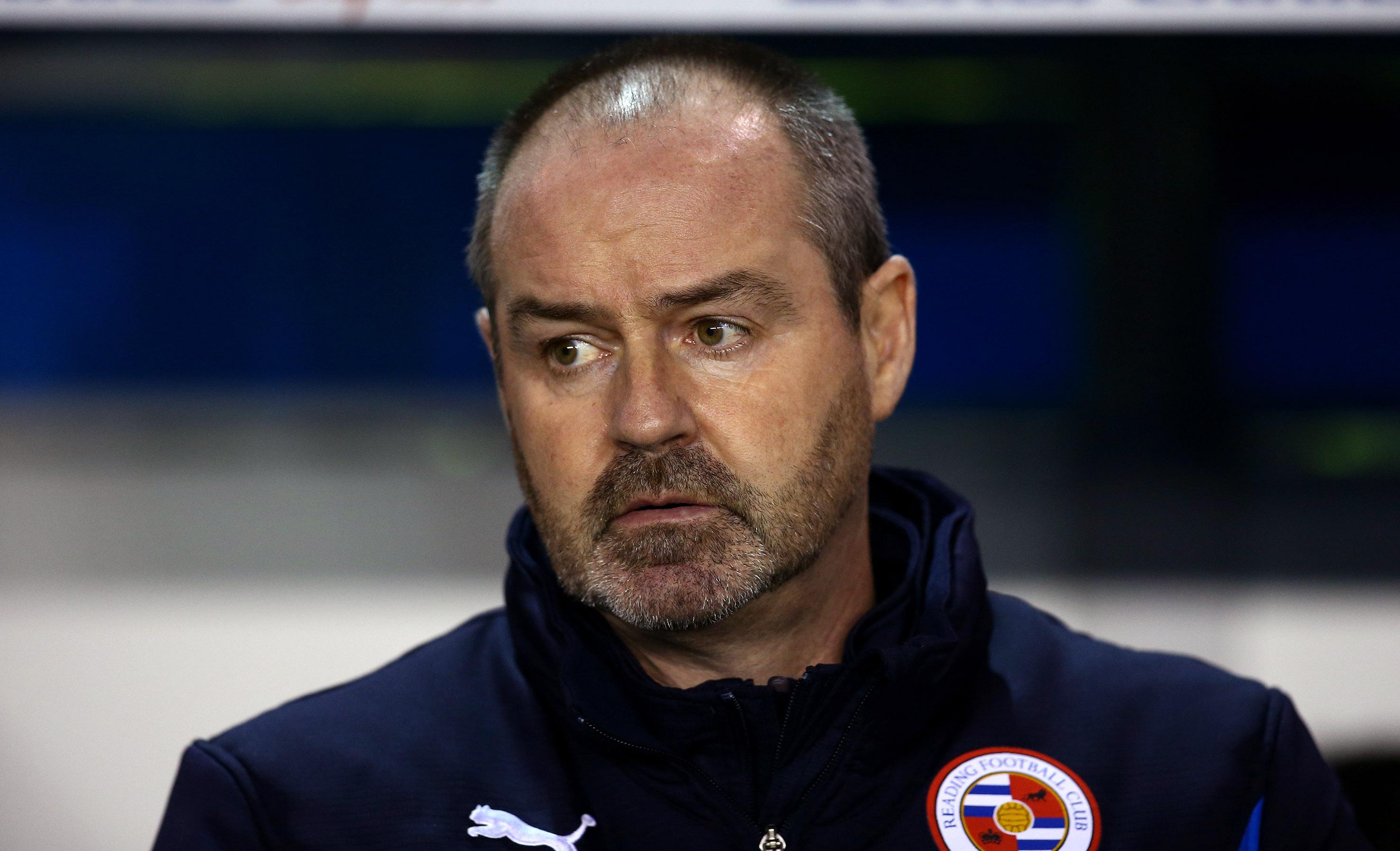 Steve Clarke looks glum during the Millwall game.