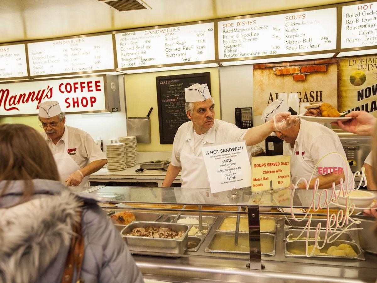 Manny's Coffee Shop & Deli.