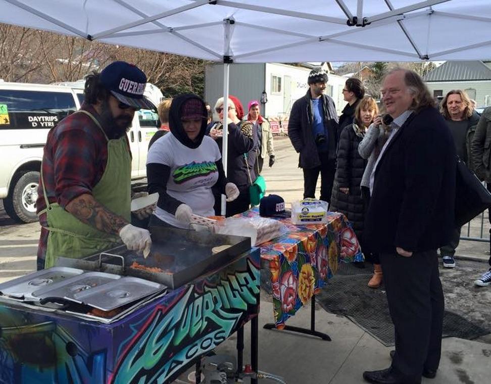 Guerilla Tacos at Sundance