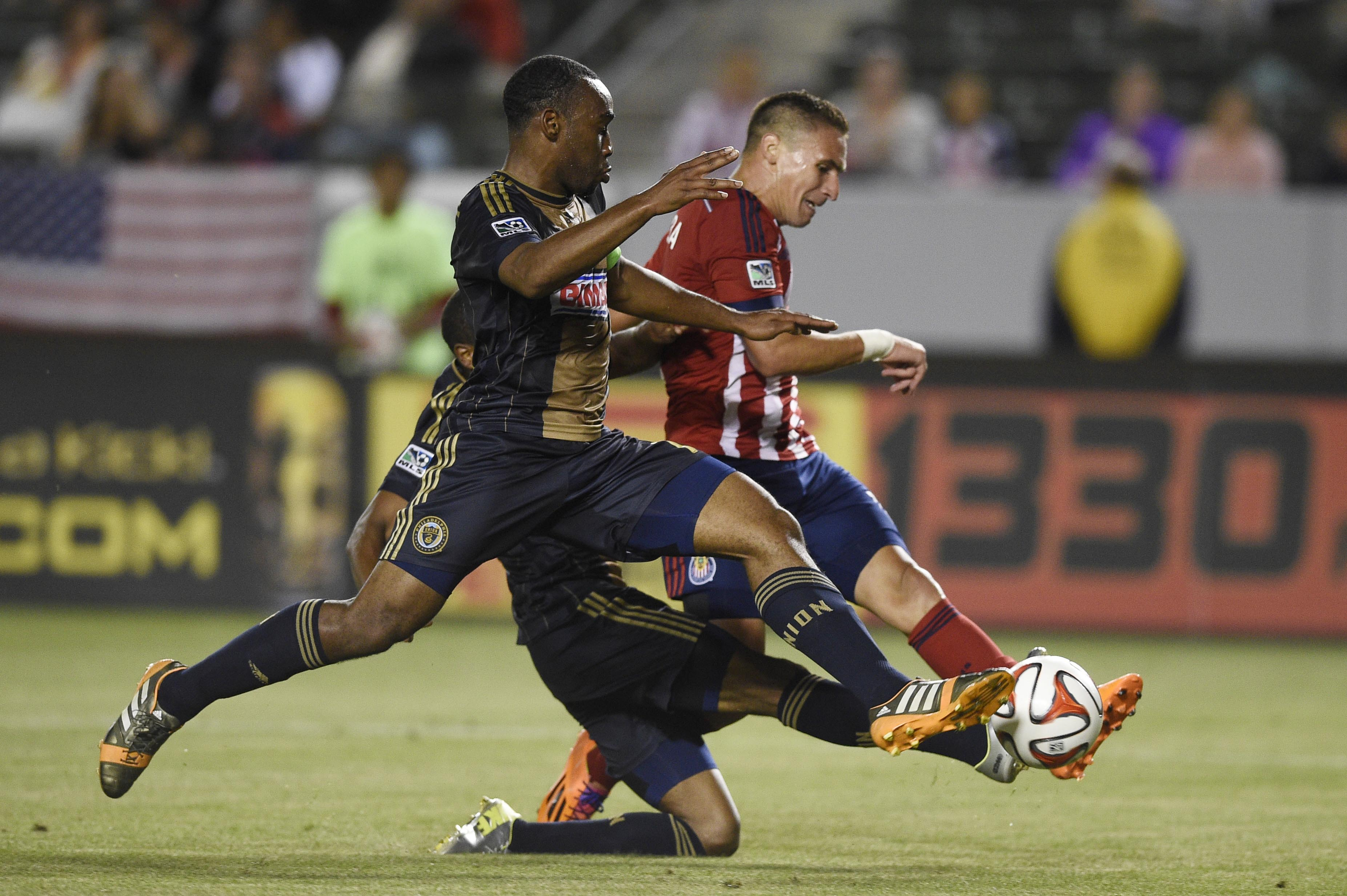 Union and Chivas: Spotty record on player nutrition.