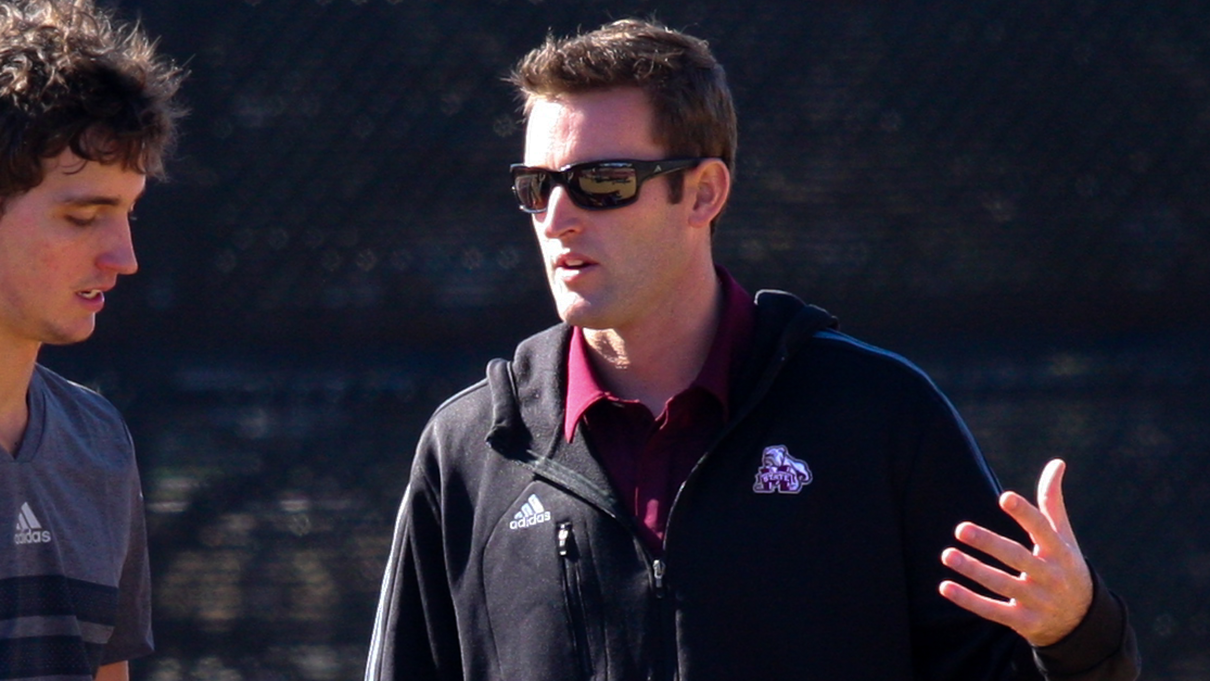 Mississippi State tennis coach Matt Roberts