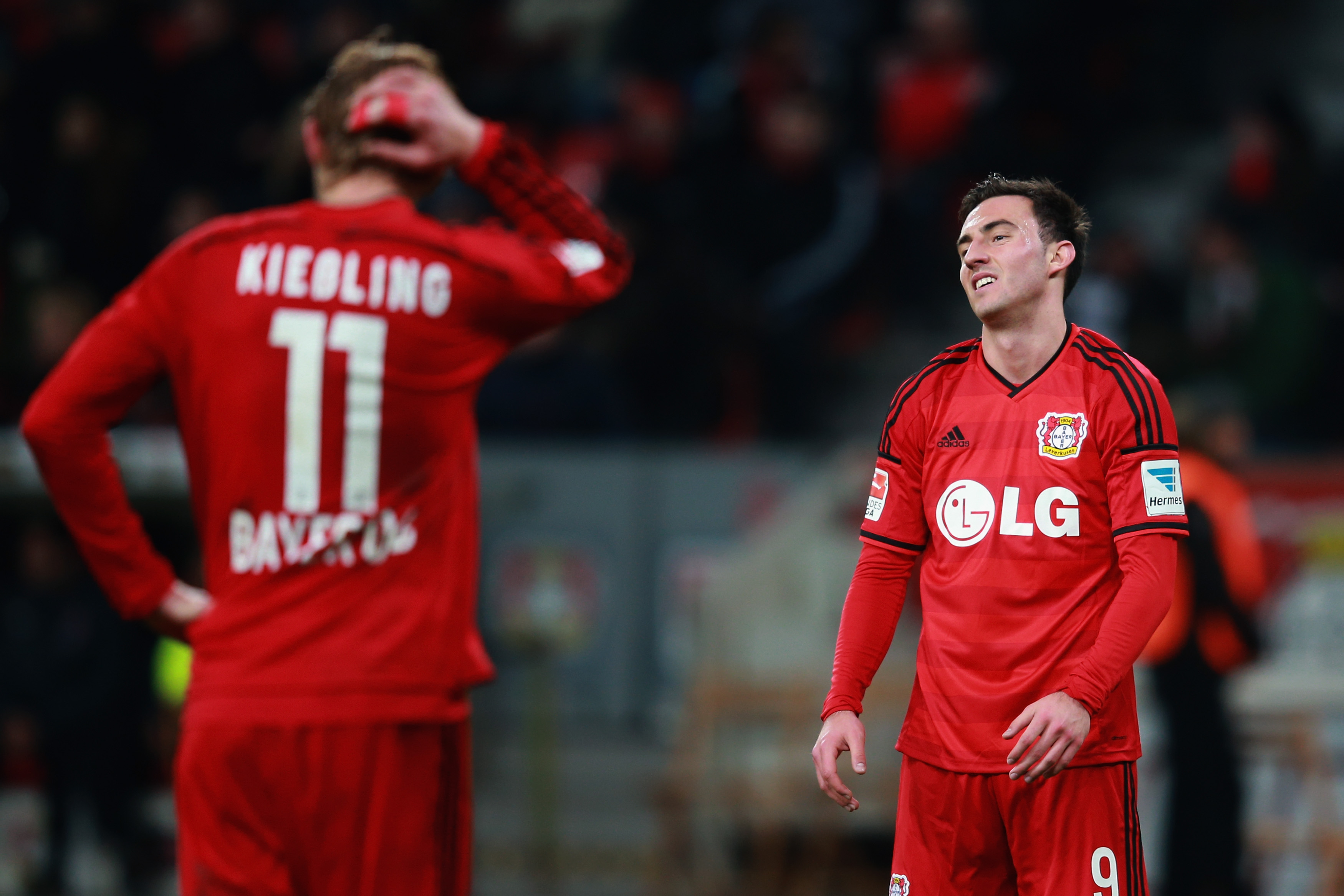 Leverkusen need more from their strikers to stay in Champions League hunt