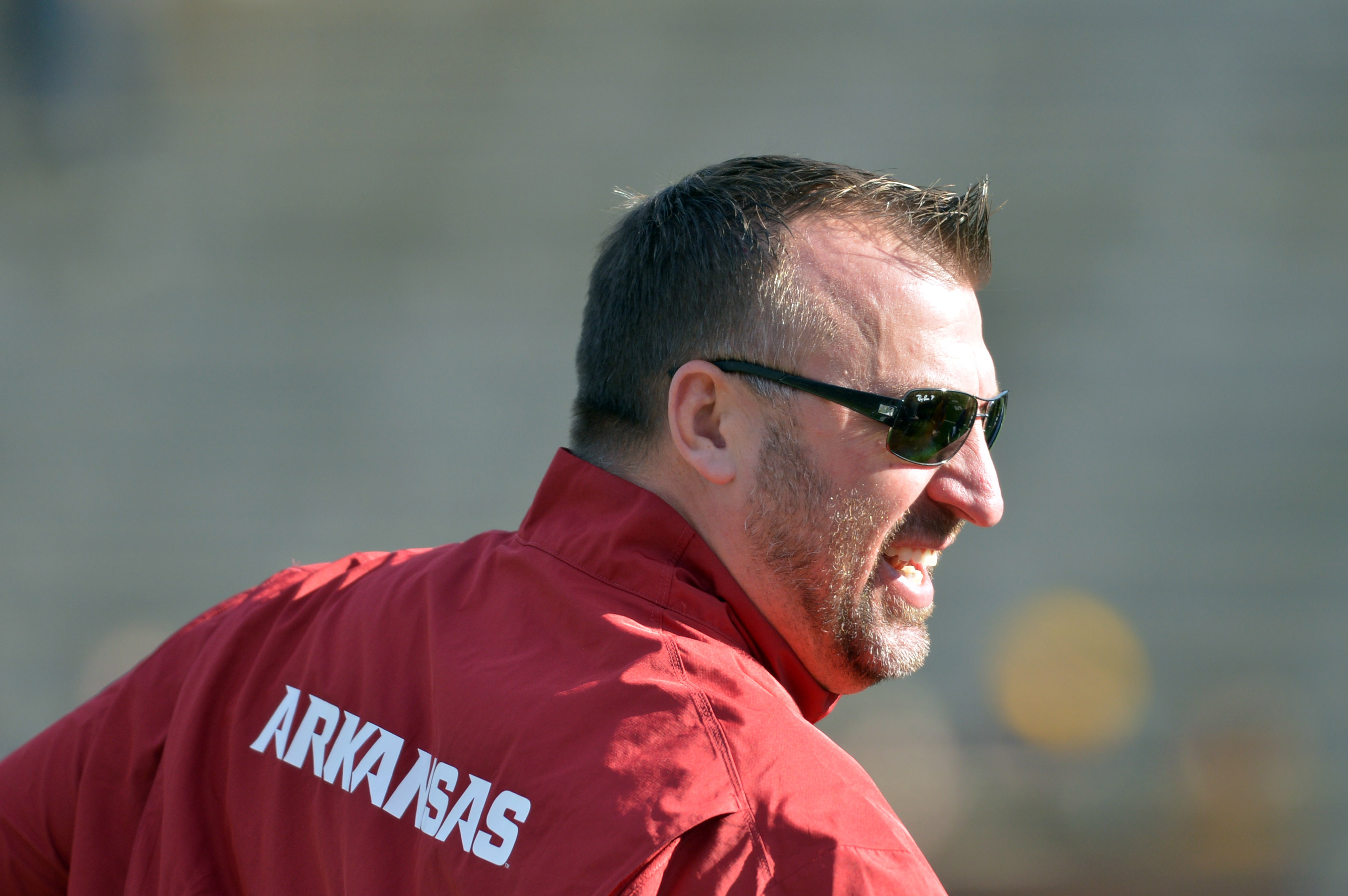 Bret Bielema says 2012 talks with Dolphins broke down over Russell Wilson
