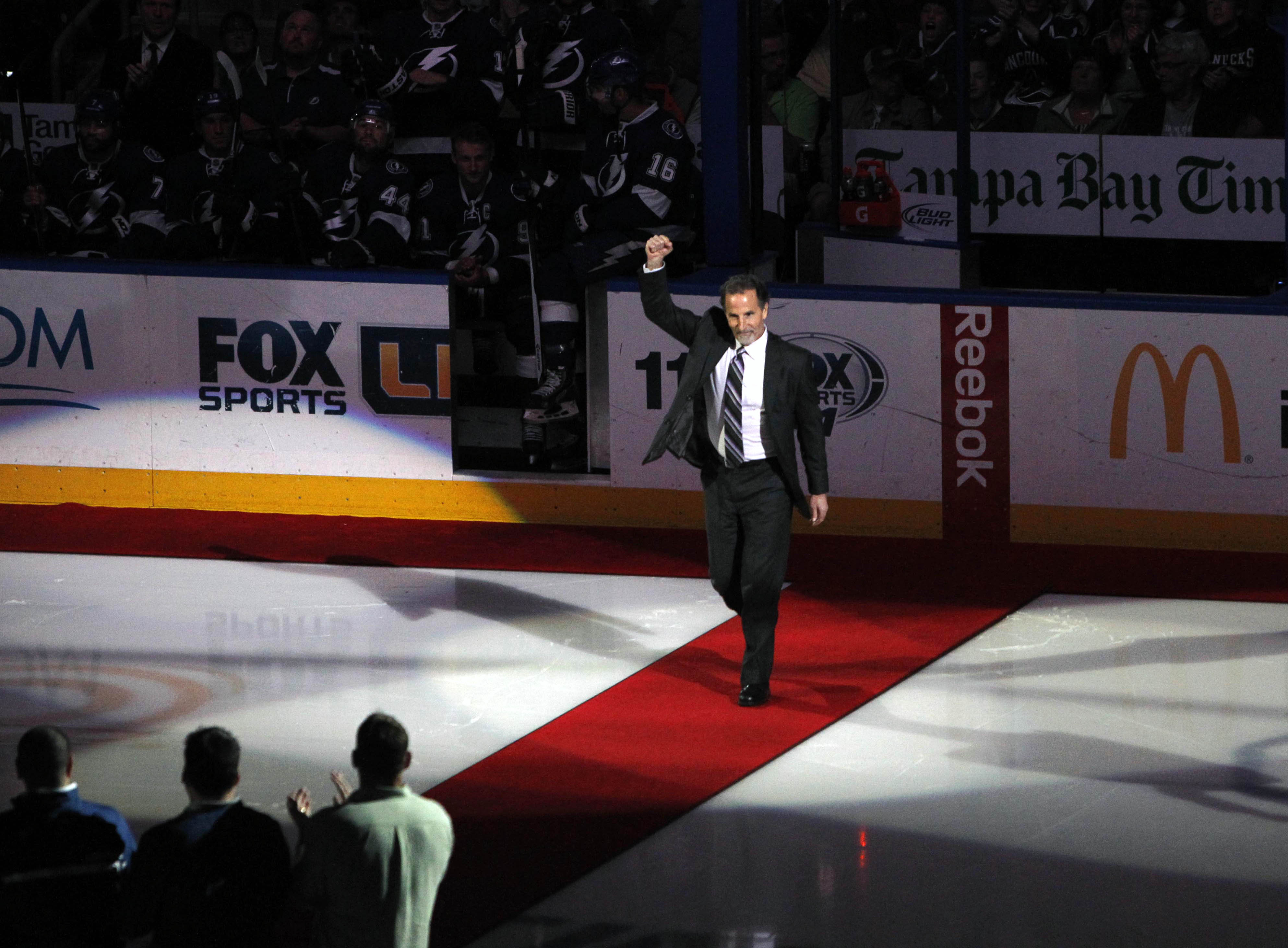 Stanley Cup-winning head coach John Tortorella will return to Amalie Arena to be part of the festivities at Hockey Day in Tampa Bay