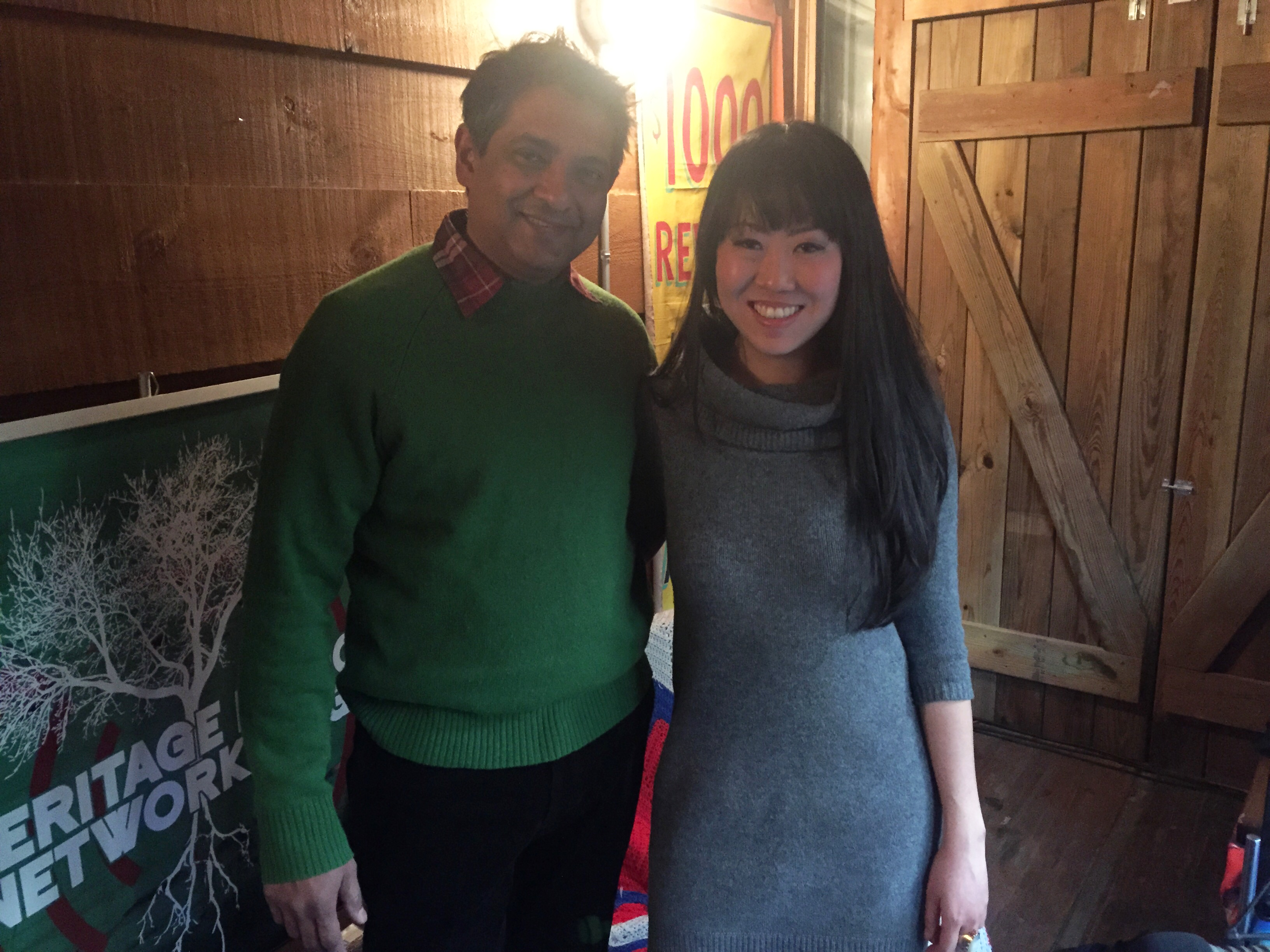 Floyd Cardoz and Leiti Hsu