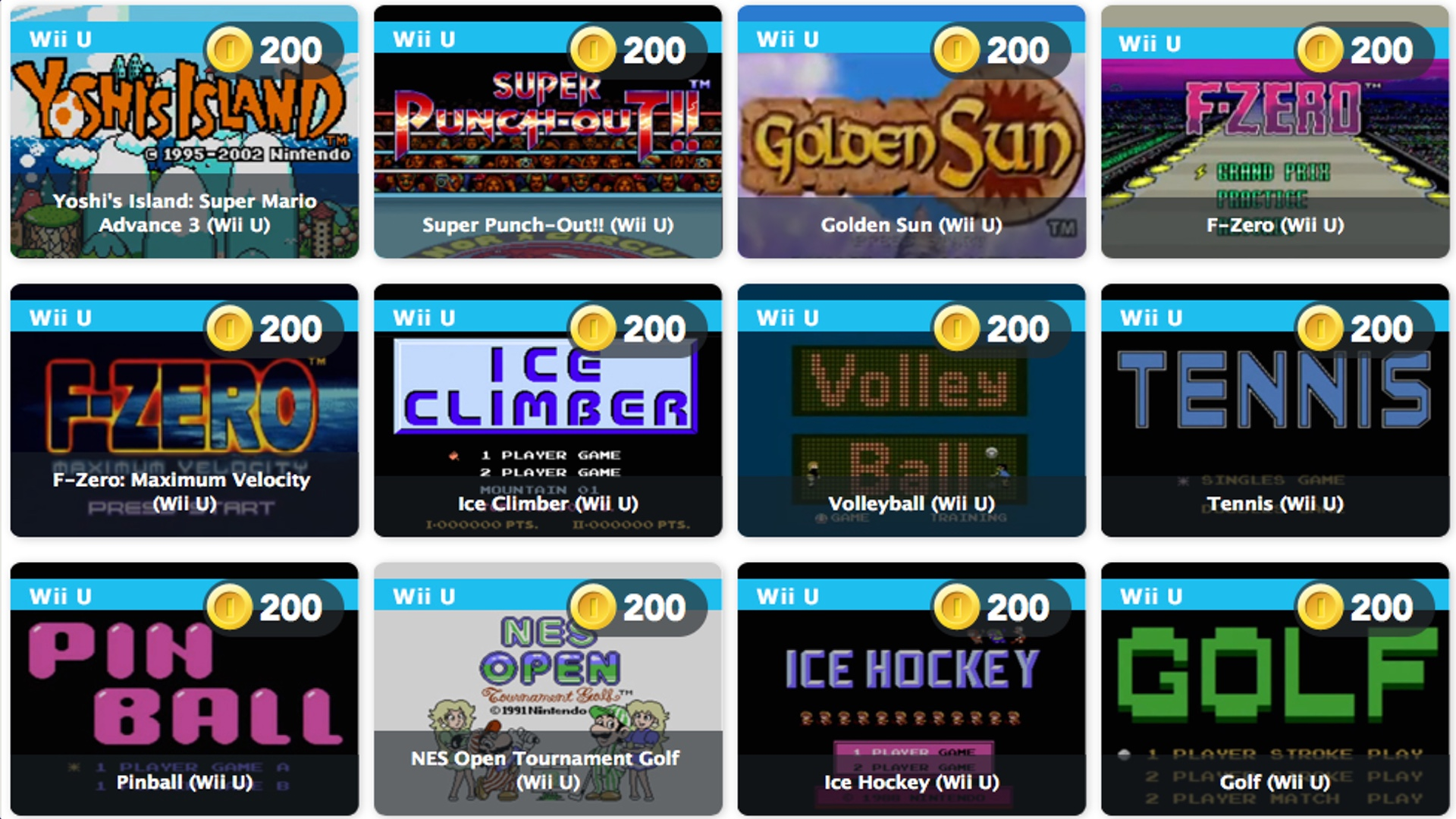 Club Nintendo's last batch of rewards includes more than 100 free games
