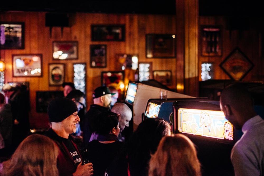 Offworld Arcade at Checker Bar.