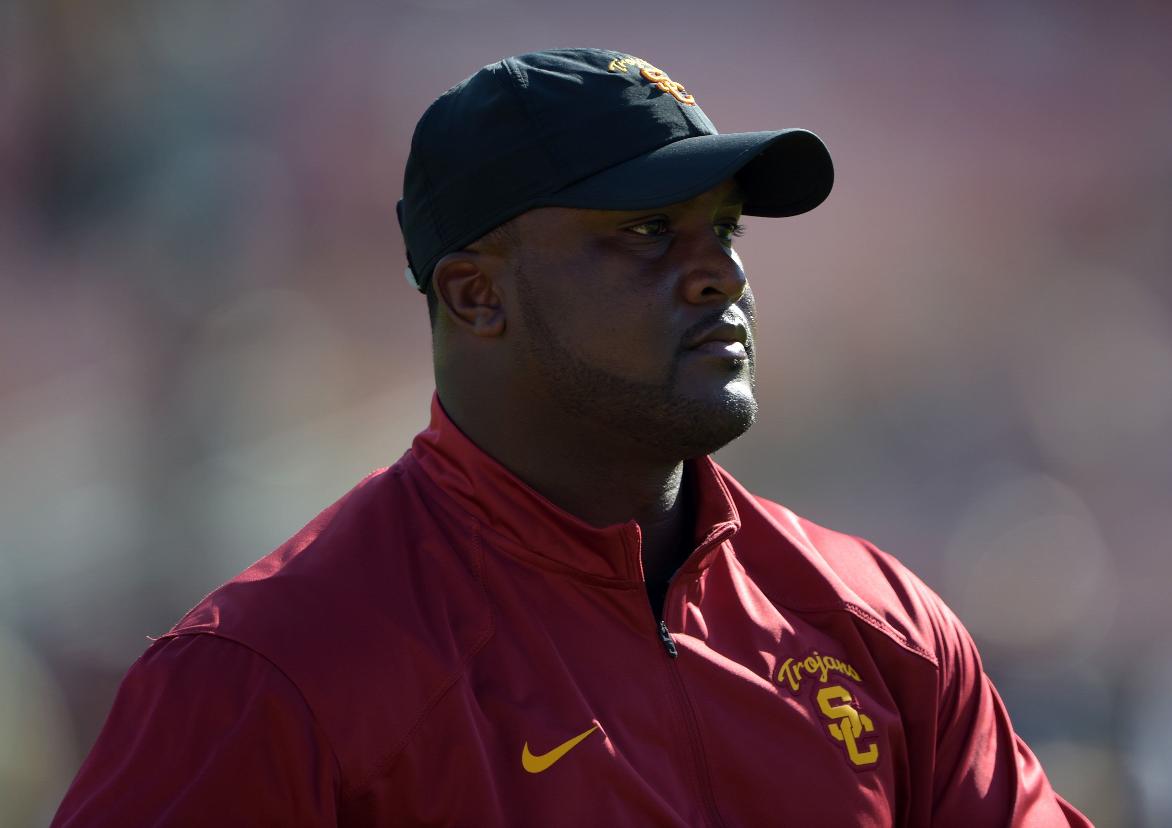 USC receivers coach Tee Martin gets another weapon on the outside.