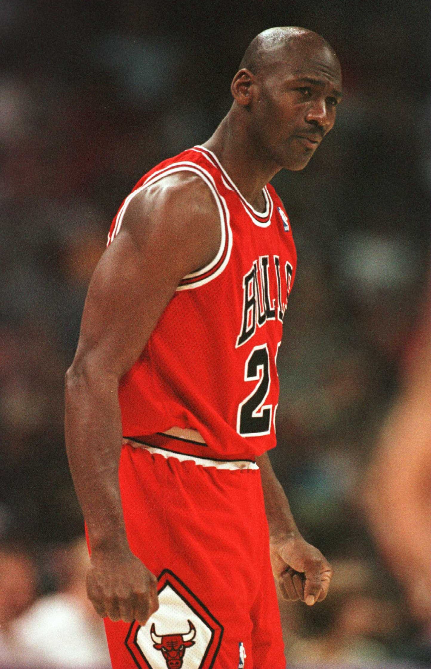 Michael Jordan also punched Will Perdue