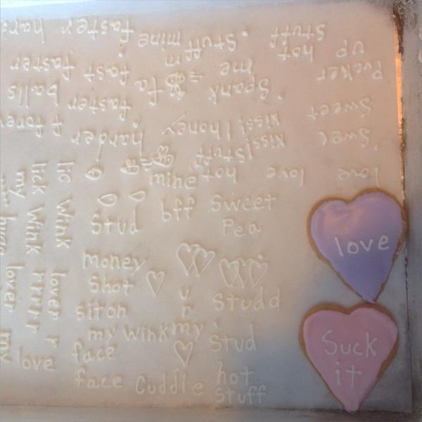 Flour's Valentine's Day cookies