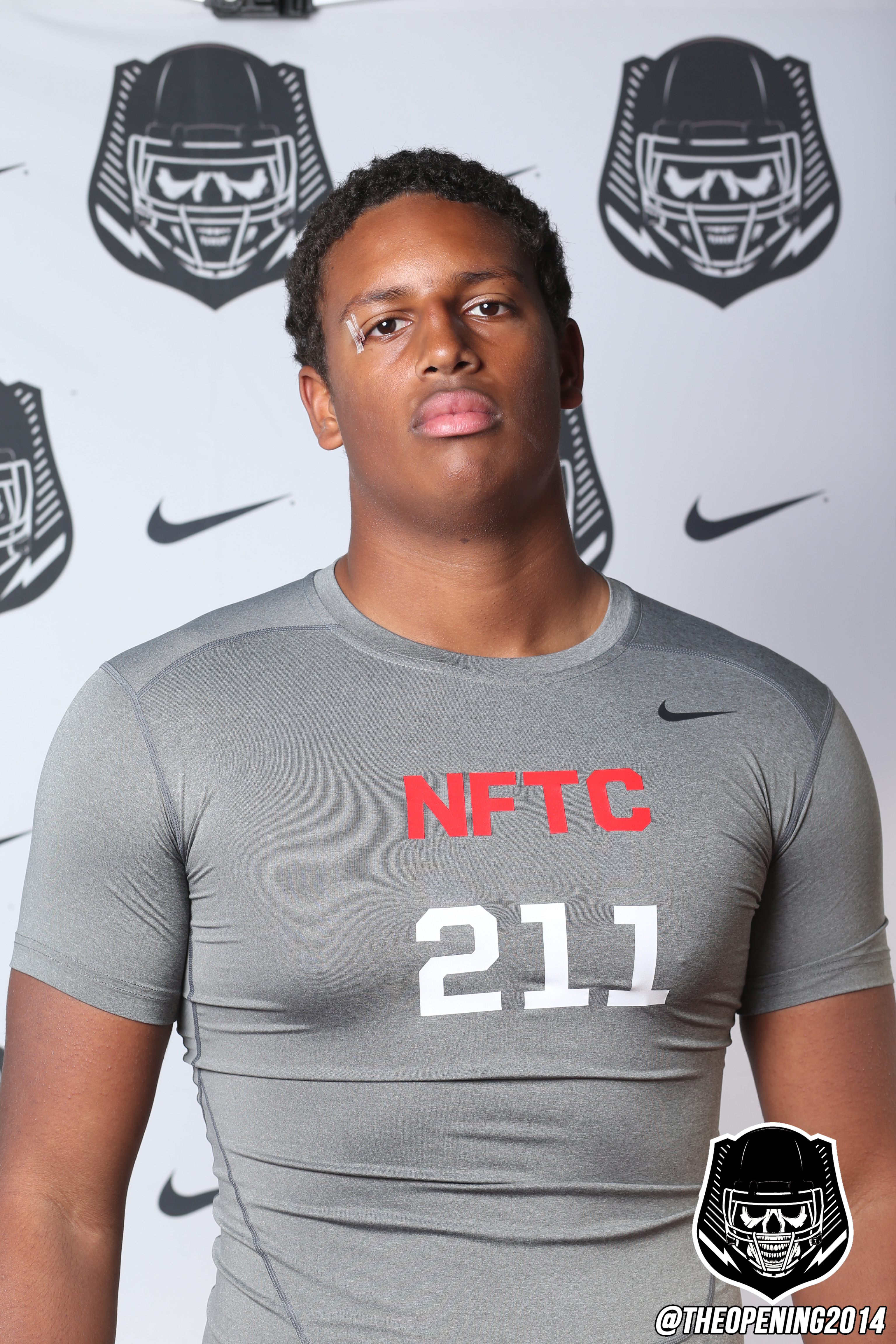 Christian Rector could play defensive end or outside linebacker.