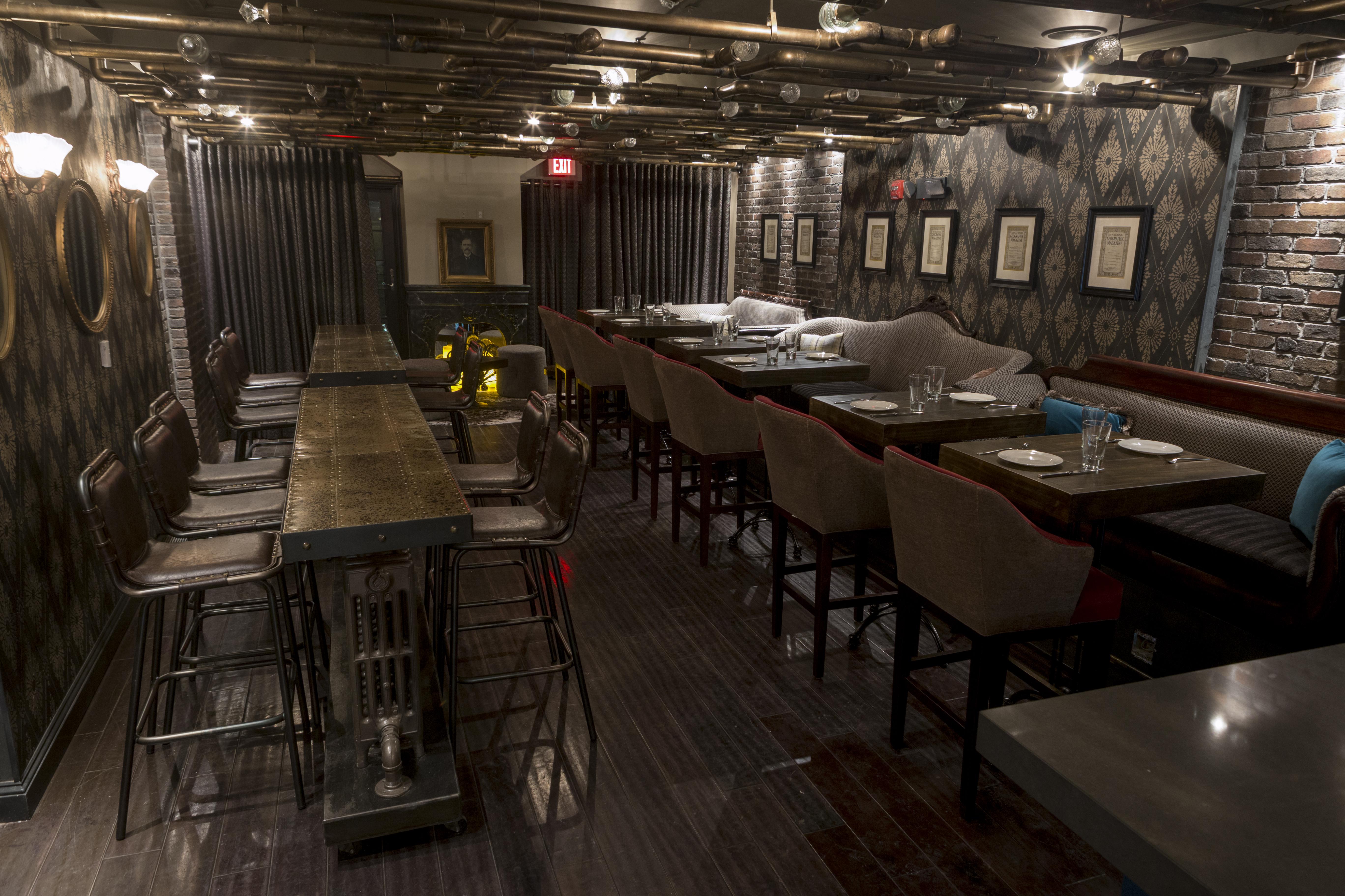 D.C. Now Has An Alexander Graham Bell-Themed, Steampunk-Inspired Restaurant