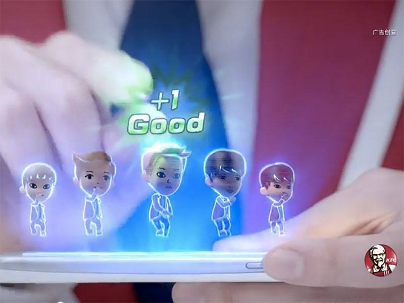 KFC Asia Creates K-Pop Video Game to Sell Chicken