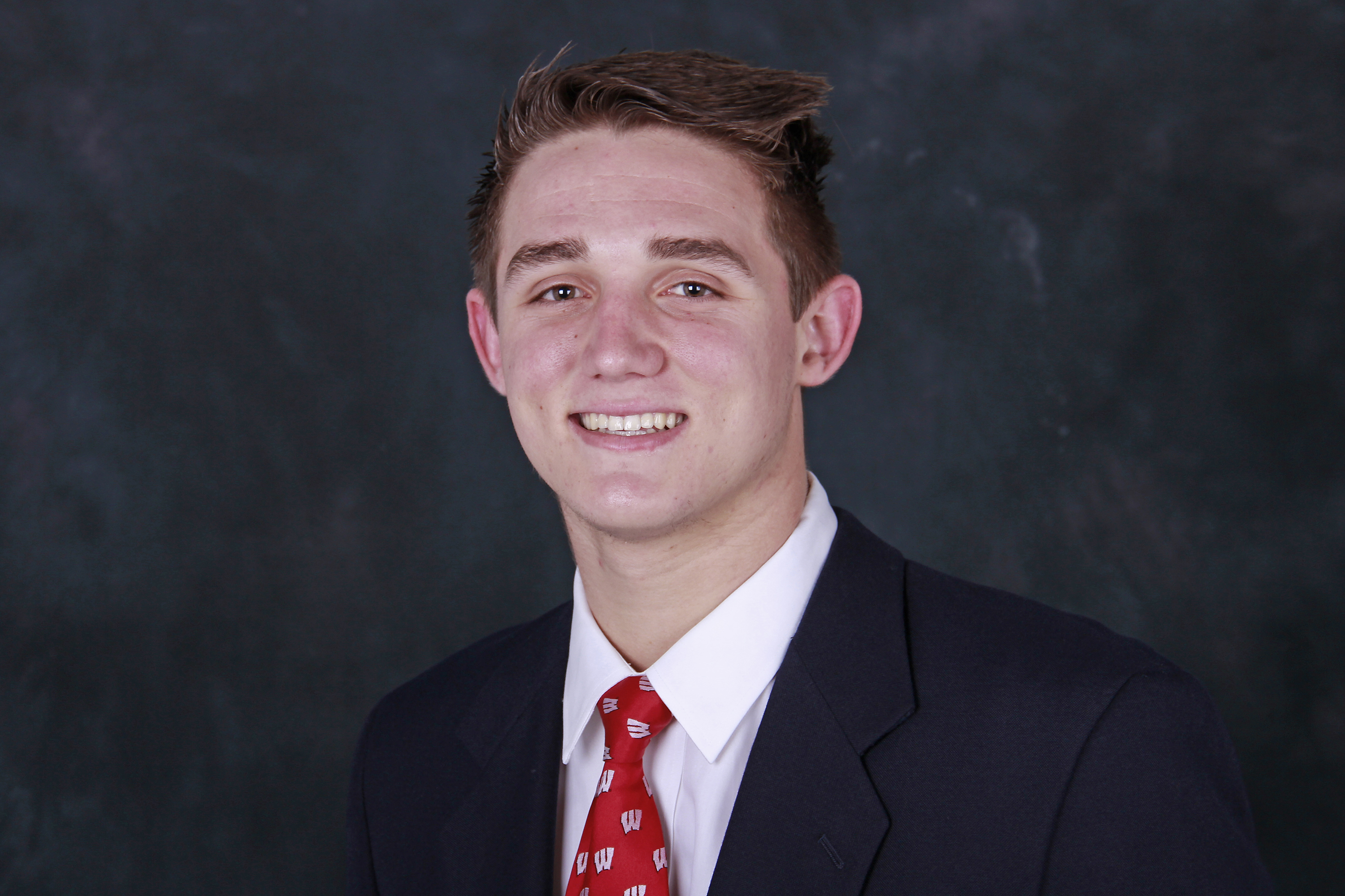 Wisconsin early enrollee, tight end Kyle Penniston.