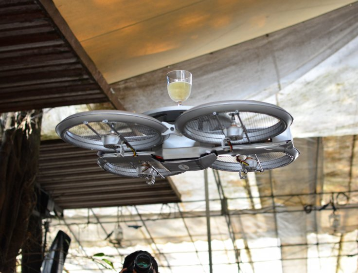 Terrifying Drones Replace Waiters at New Restaurant