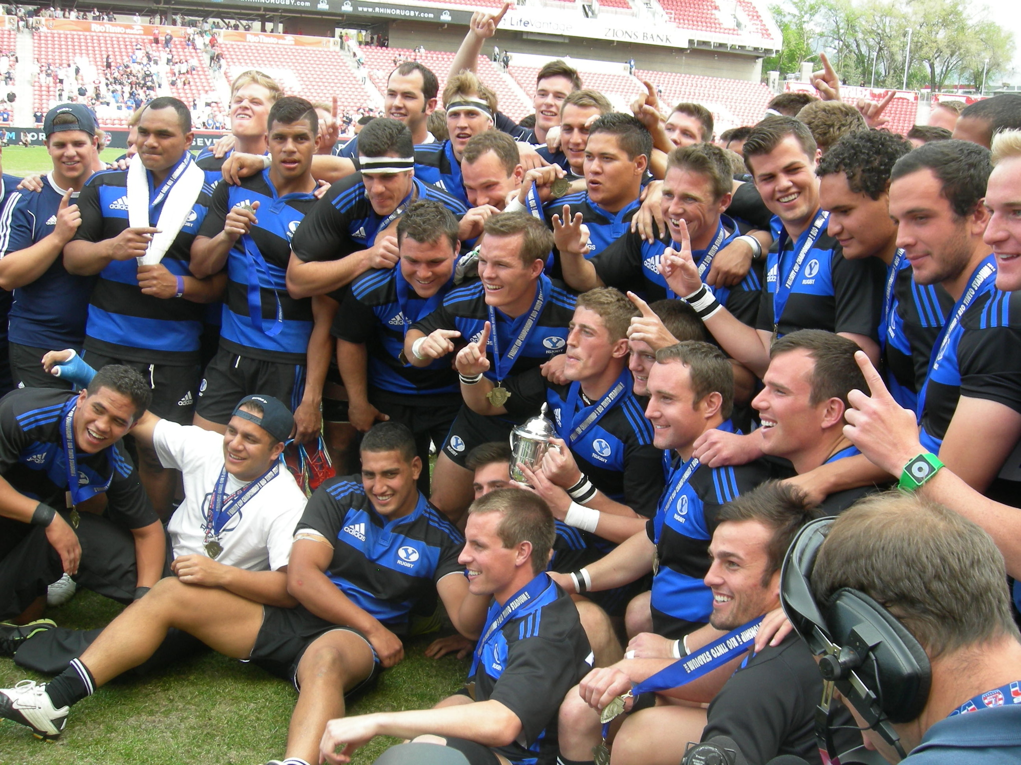 The winners of the Varsity Cup last year will be home next week.