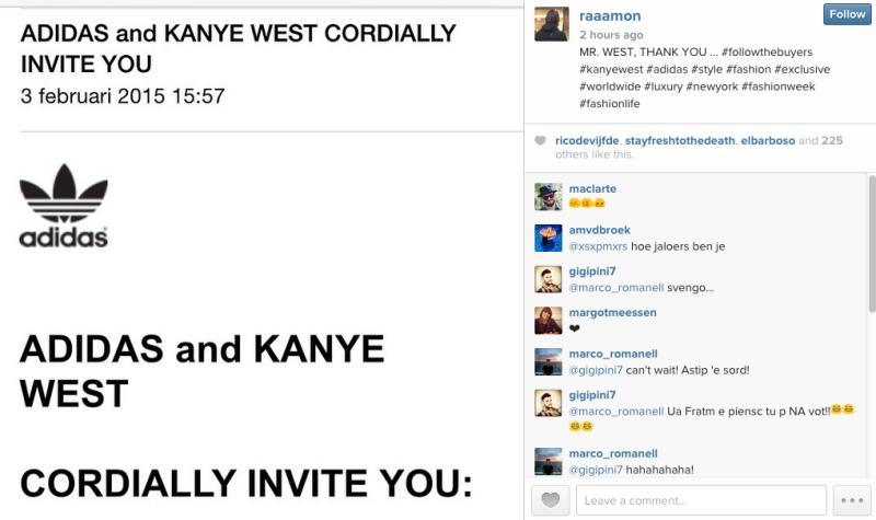 "Photo <a href=""http://www.complex.com/style/2015/02/kanye-west-adidas-show-nyfw"">via</a> Complex"