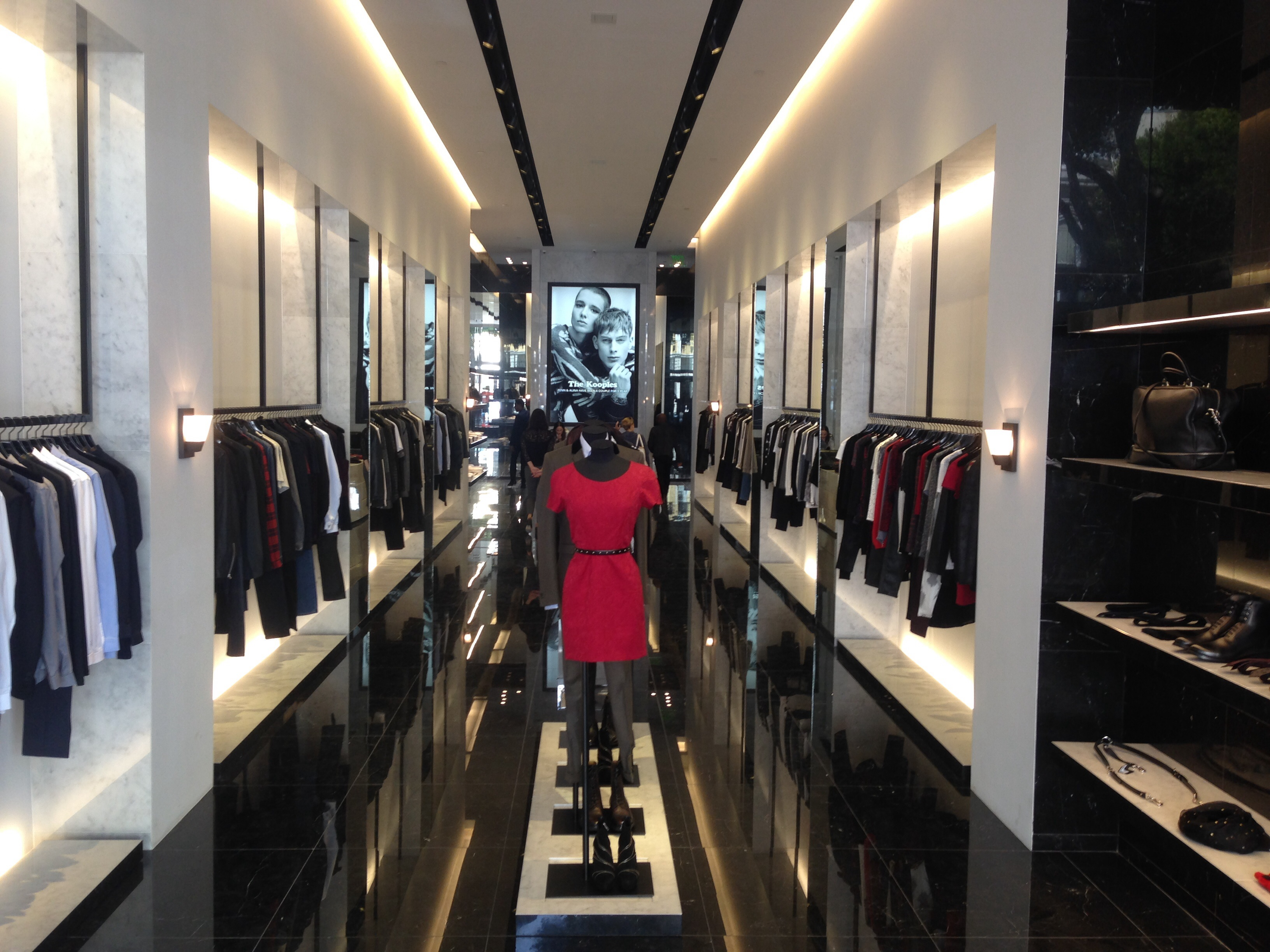 """Inside The Kooples; photo via <a href=""""http://sf.racked.com/archives/2014/06/30/the-kooples-is-now-open-on-fillmore.php"""">Racked SF</a>"""