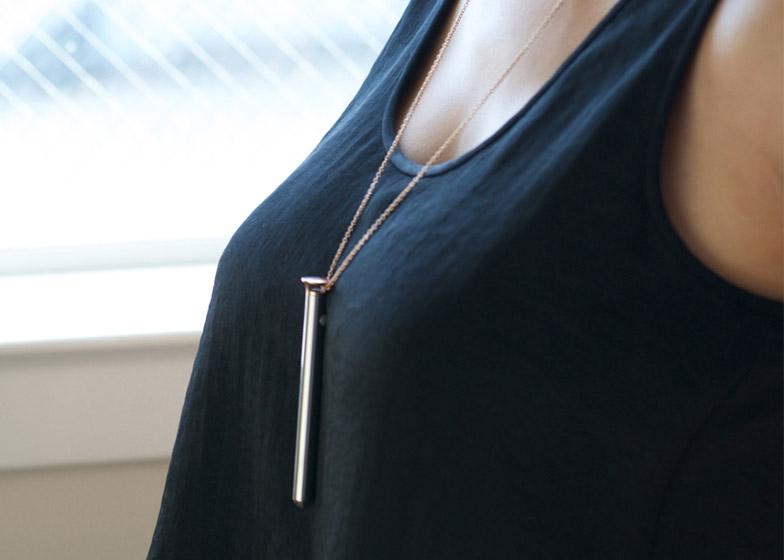 "The Vesper necklace. $69-$149 at <a href=""http://store.lovecrave.com/vesper/?_ga=1.130794317.354547188.1422906831"">Crave</a>."