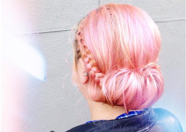 "Hair styling by Seana Tuohy; photo via <a href=""http://www.edosalon.com/"">Edo Salon</a>/Instagram"