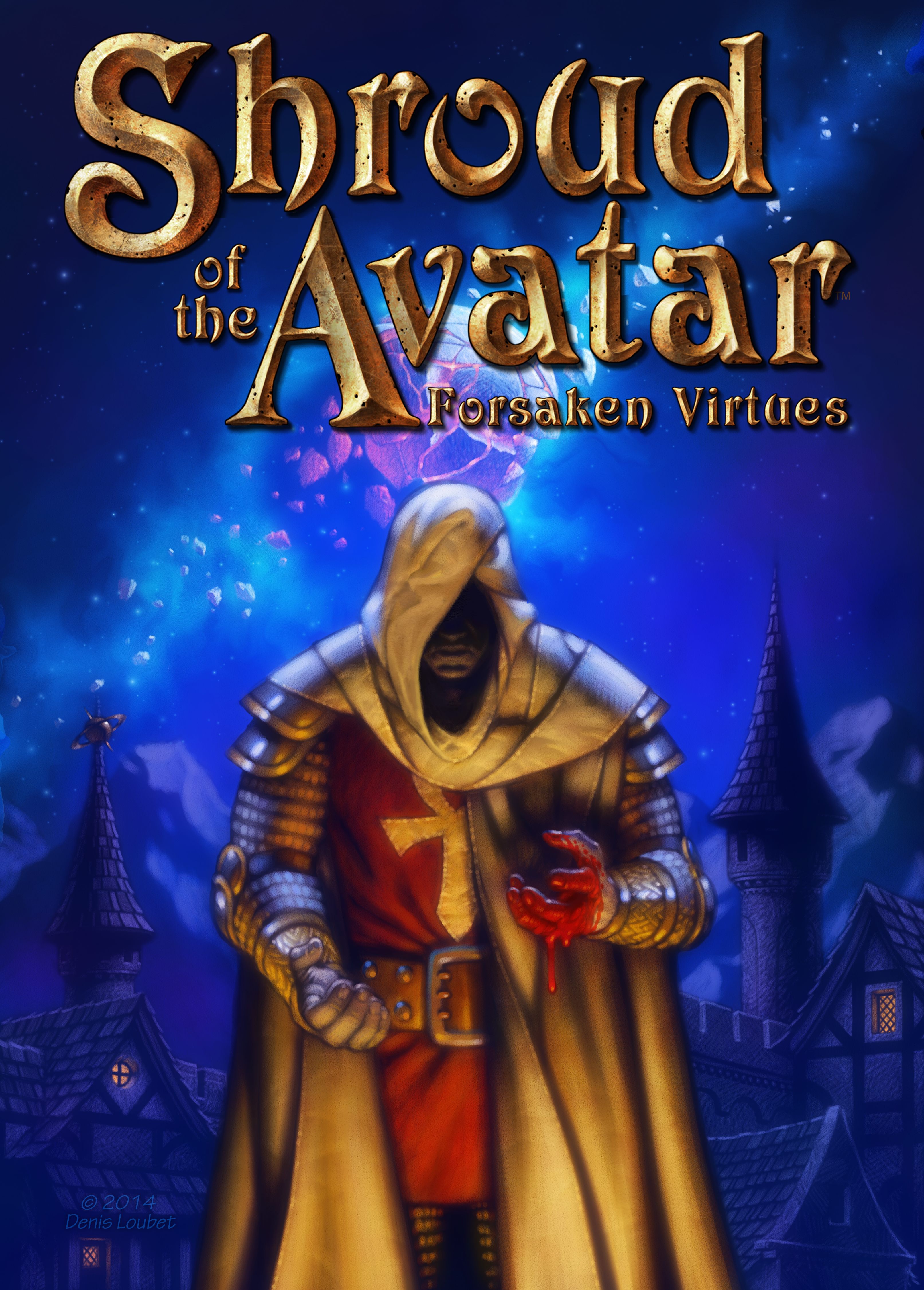 As Richard Garriott's new RPG approaches $6M, he eyes a 2015 full release and book trilogy [correction]