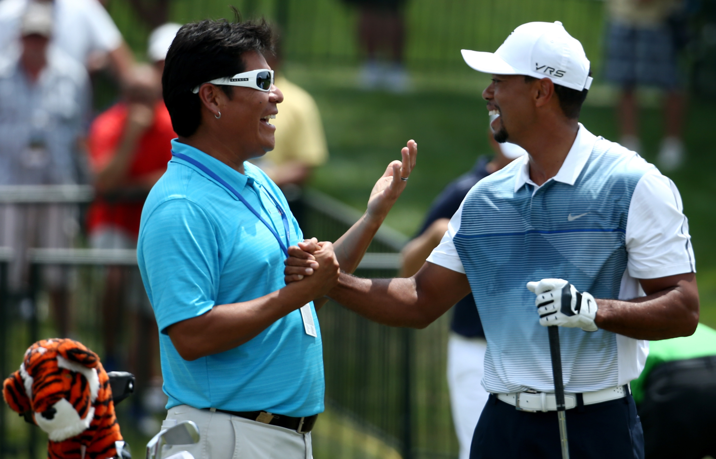 Rock bottom for Tiger Woods? Even Notah Begay is laughing at his 'deactivated glutes'