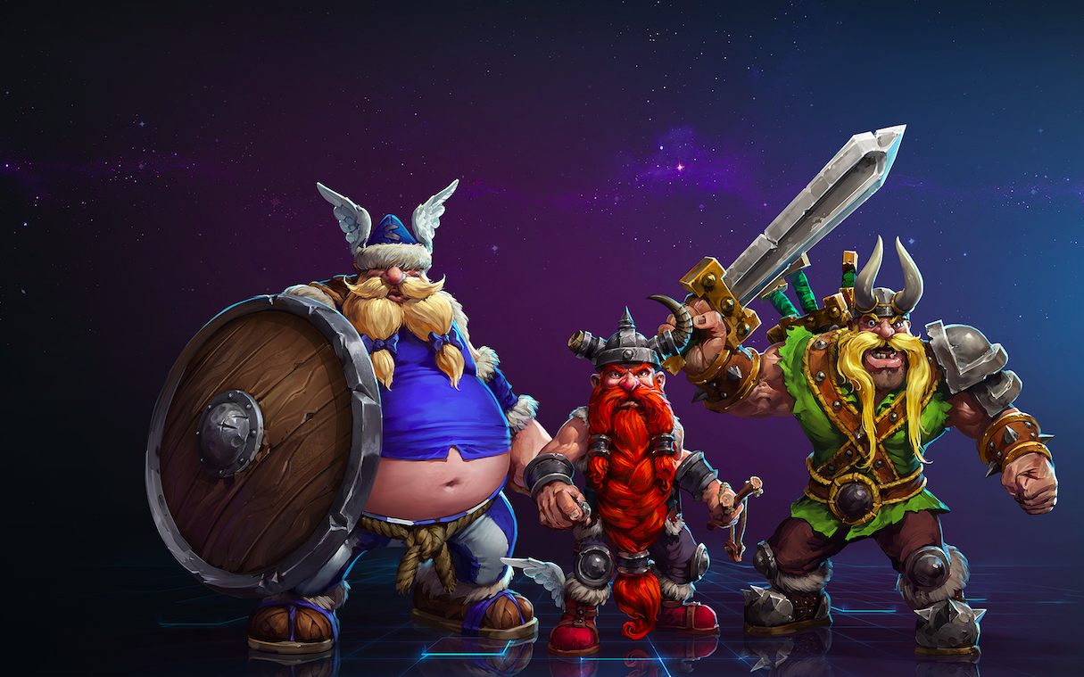 The Lost Vikings have come to Heroes of the Storm, and things are getting weird