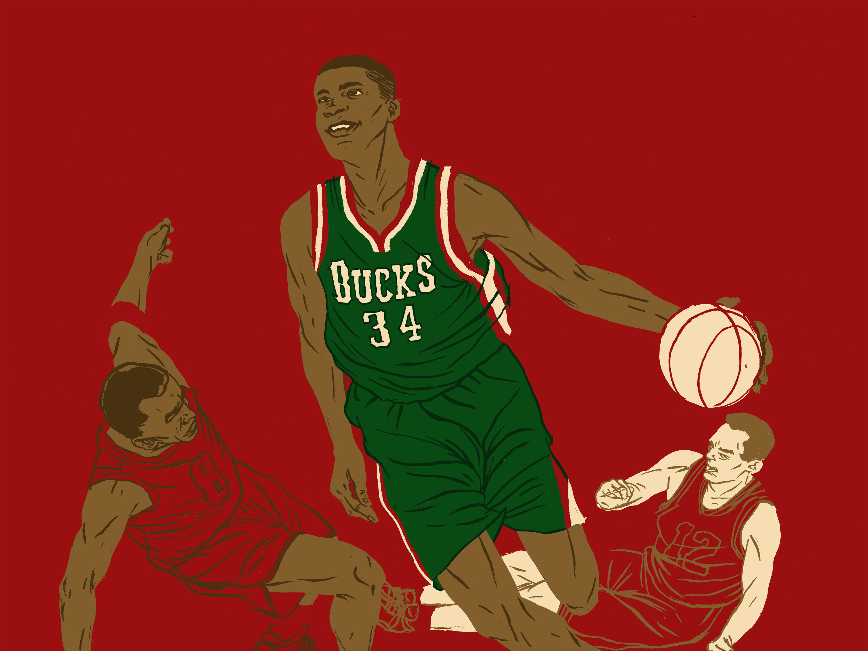 Giannis Antetokounmpo is reinventing the game