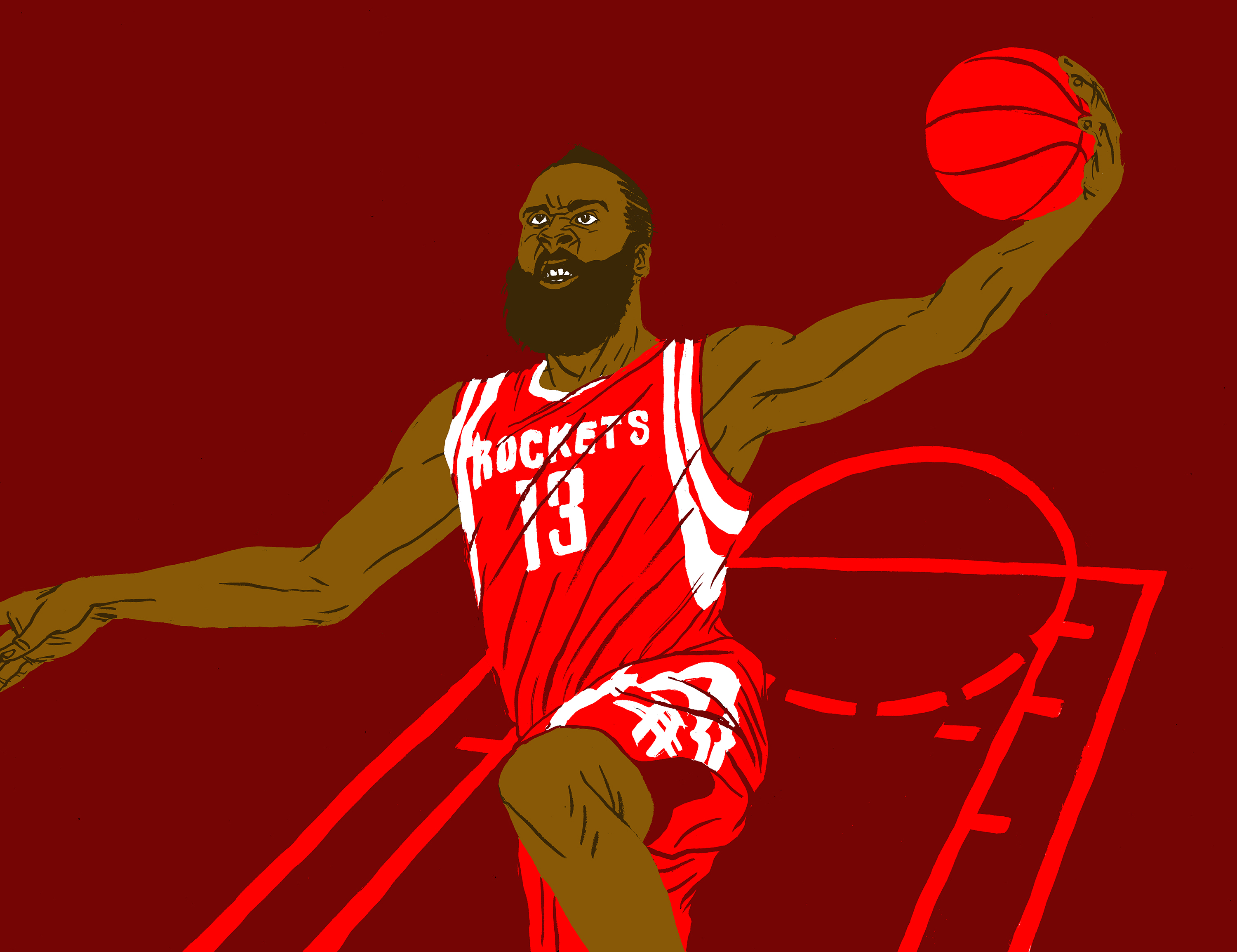 James Harden succeeds by any means necessary