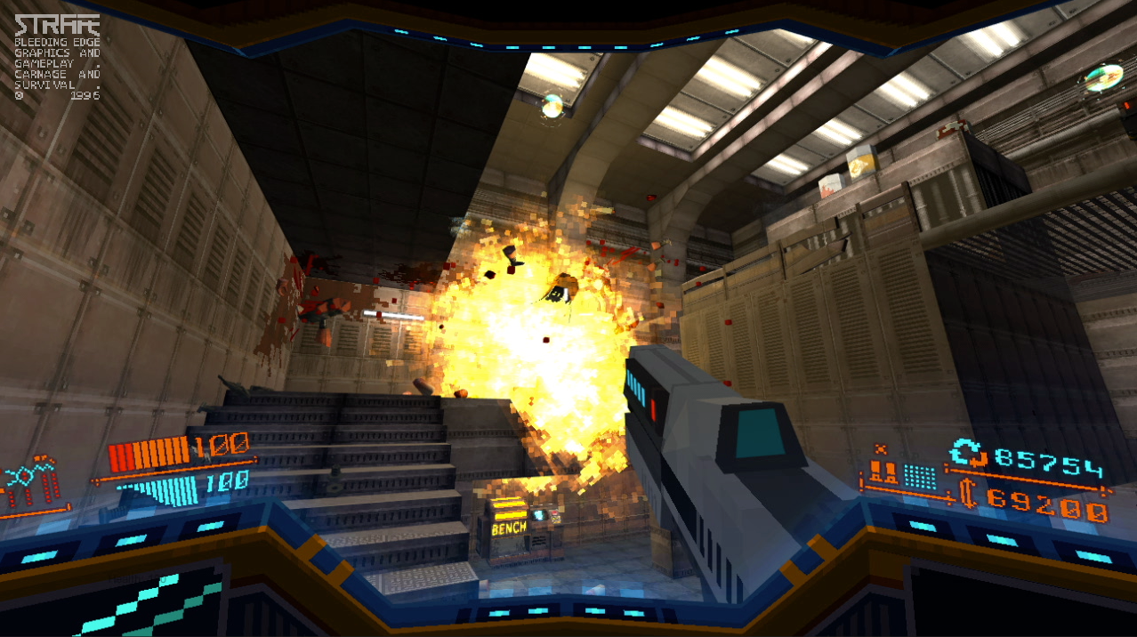 Don't barf: Strafe in VR is aimed at hardcore players with guts of iron