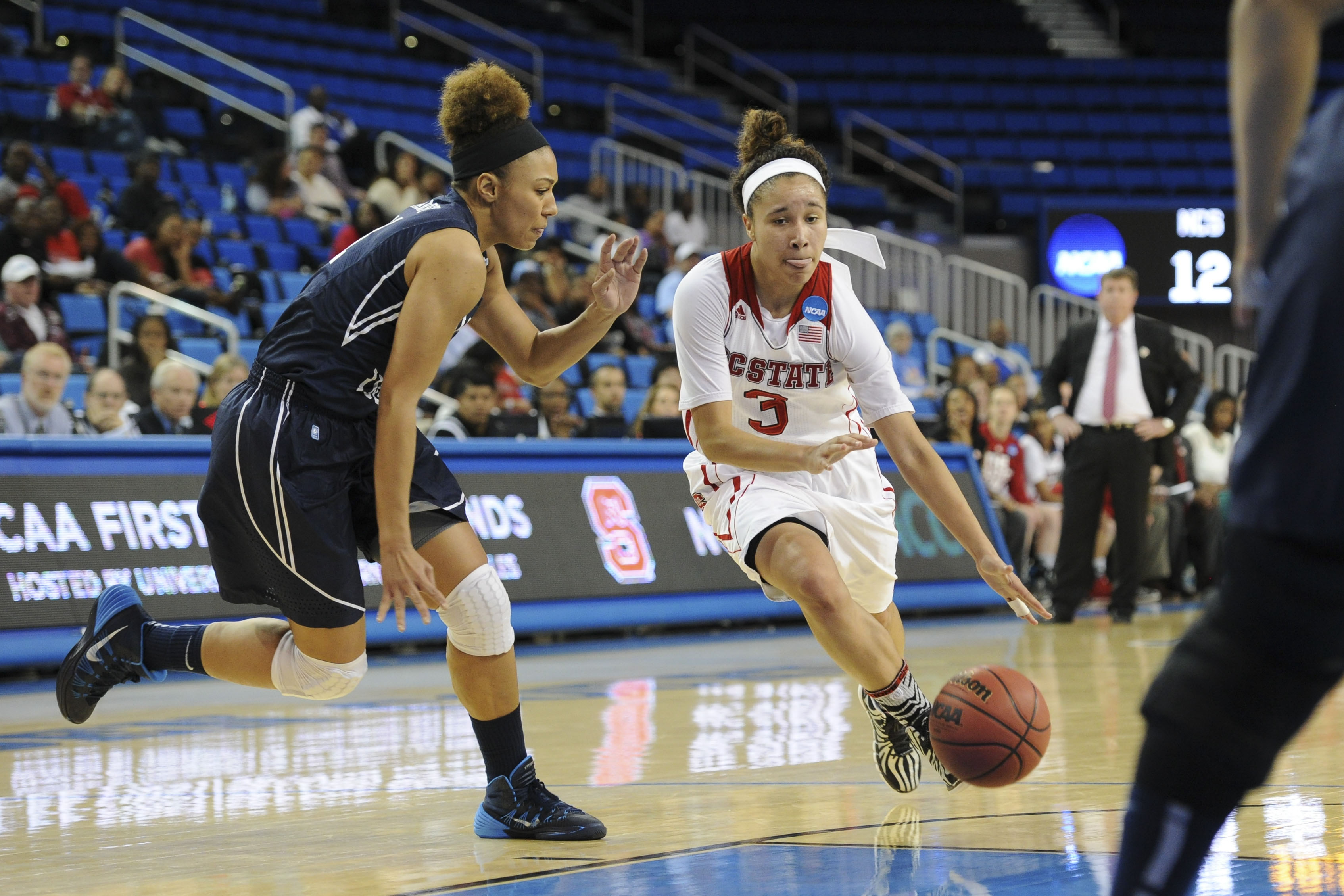 Harry earned career highs in most categories as she helped the Cougars win games.