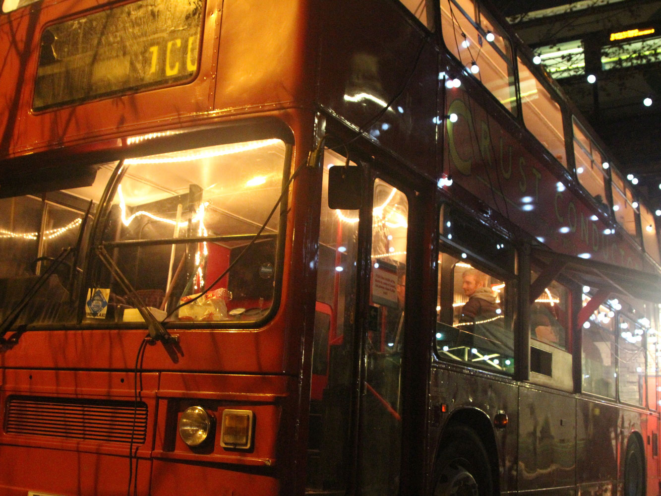 London's Hippest New Pop-Up Serves Pizza on a Double Decker Bus