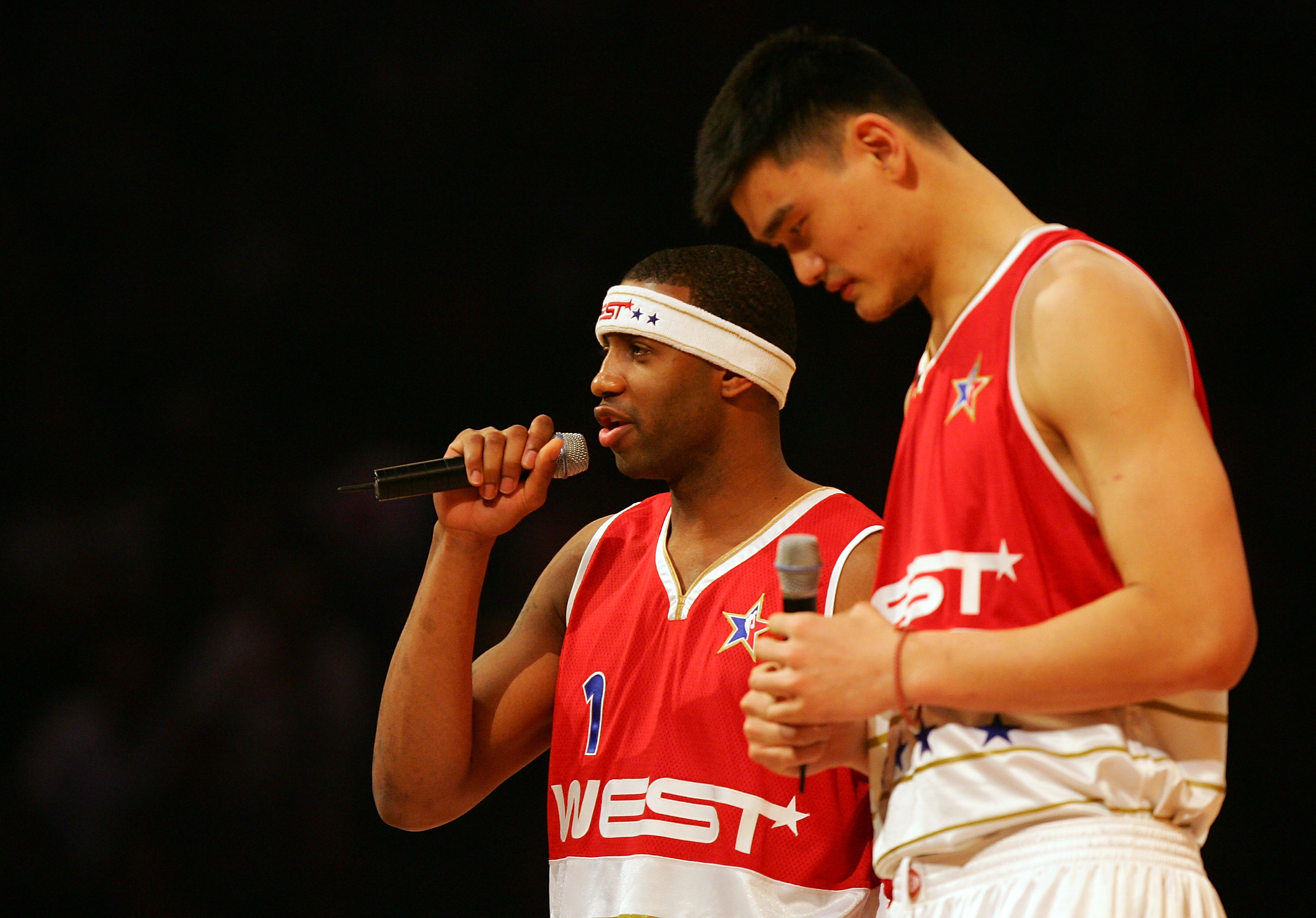 Yao and T-Mac before McGrady's magnificent display in 2006