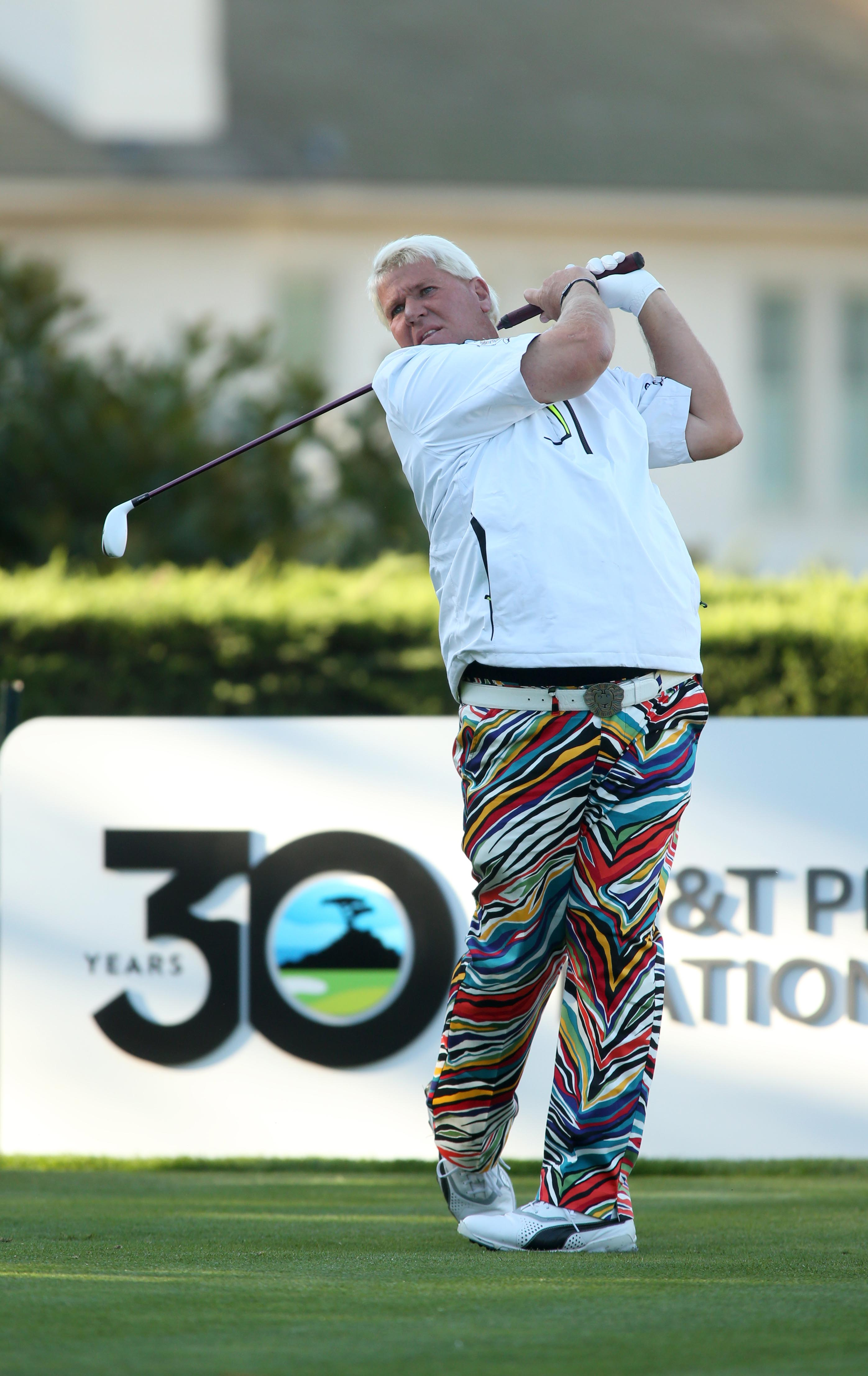 John Daly matches best opening round of career at Pebble Beach National Pro-Am