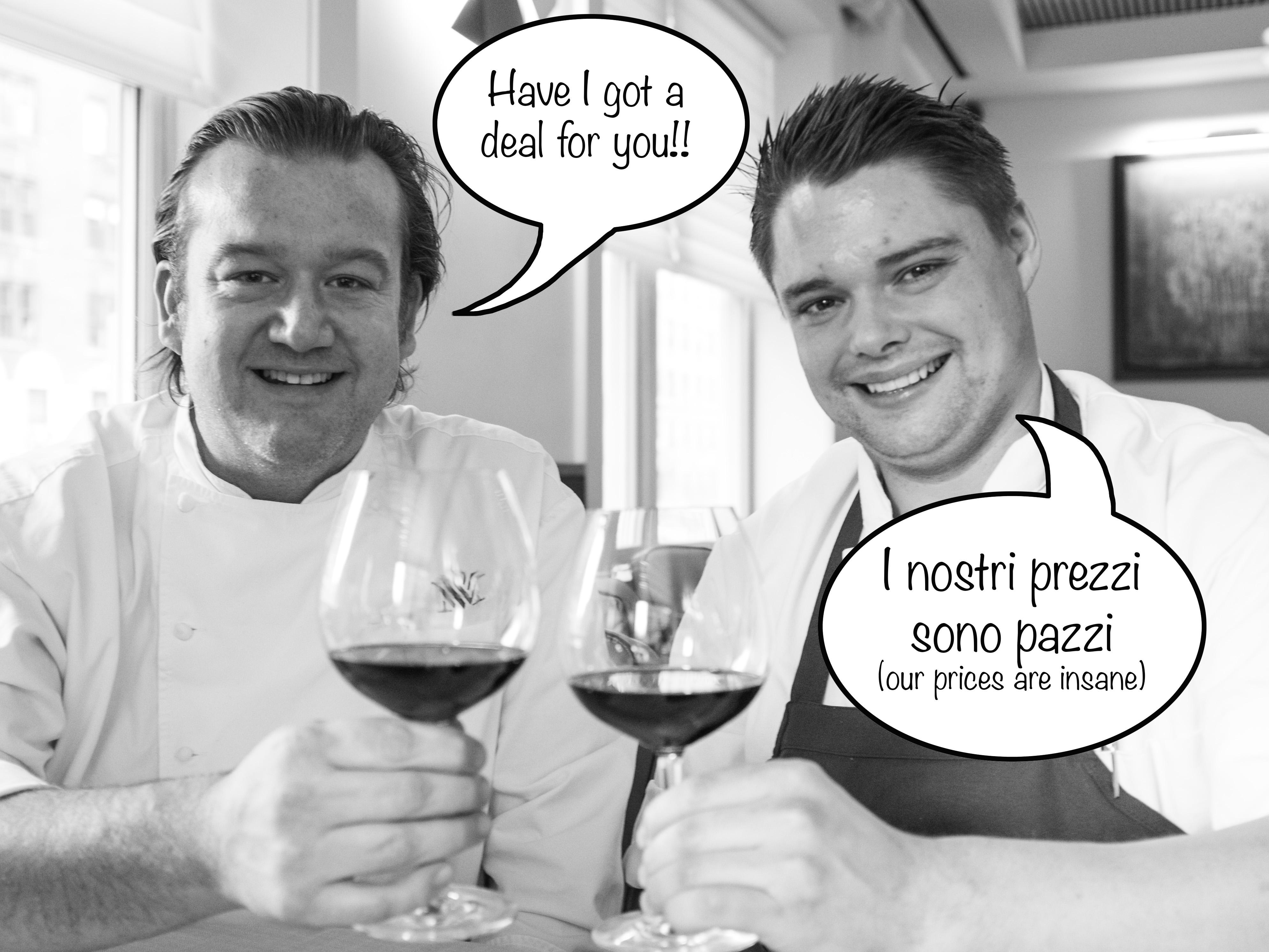 Michael White and Gordon Finn