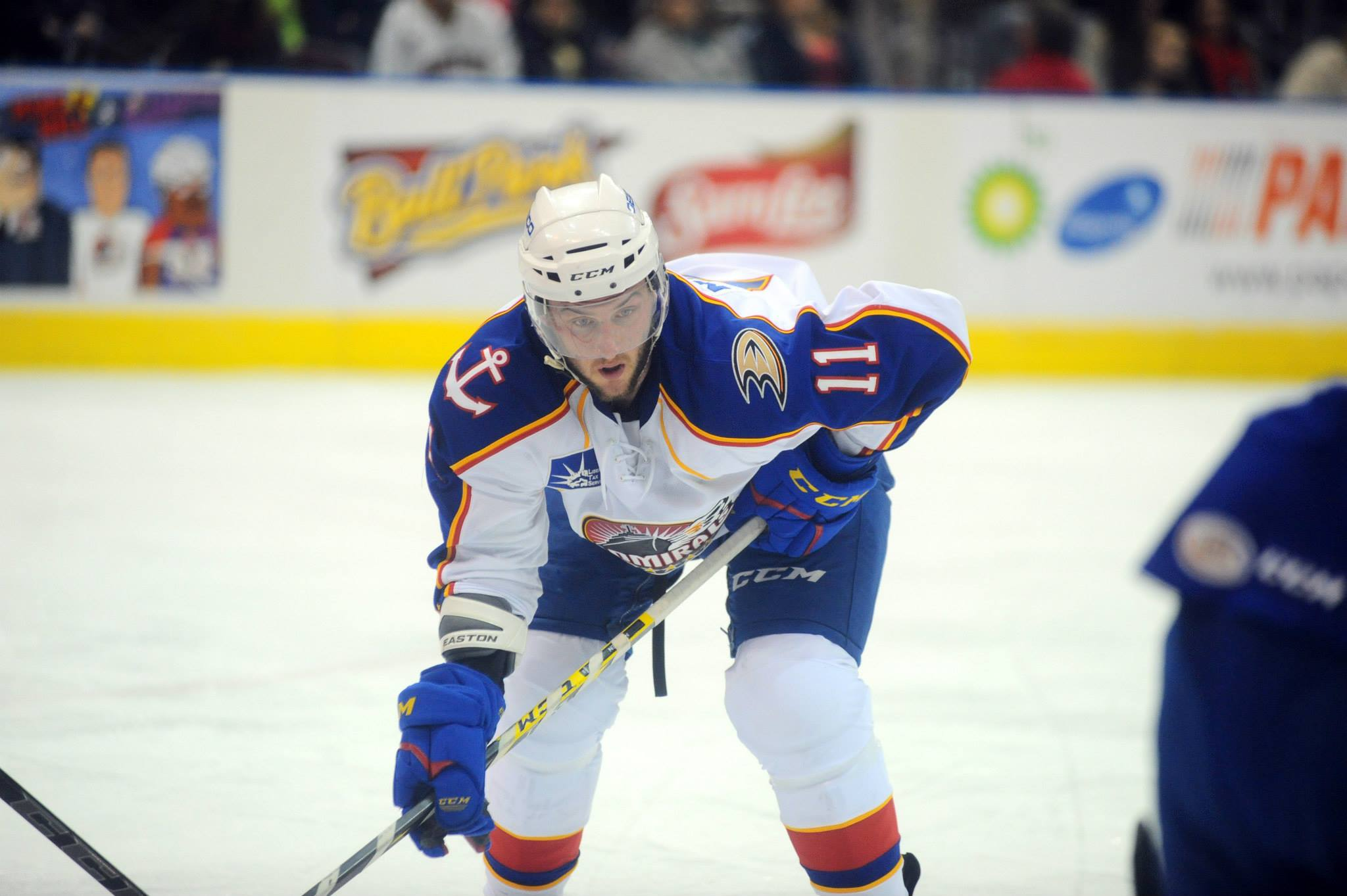 Stefan Noesen makes his return to the lineup against the Syracuse Crunch Feb 13, 2015 after being out since Oct 18, 2014.