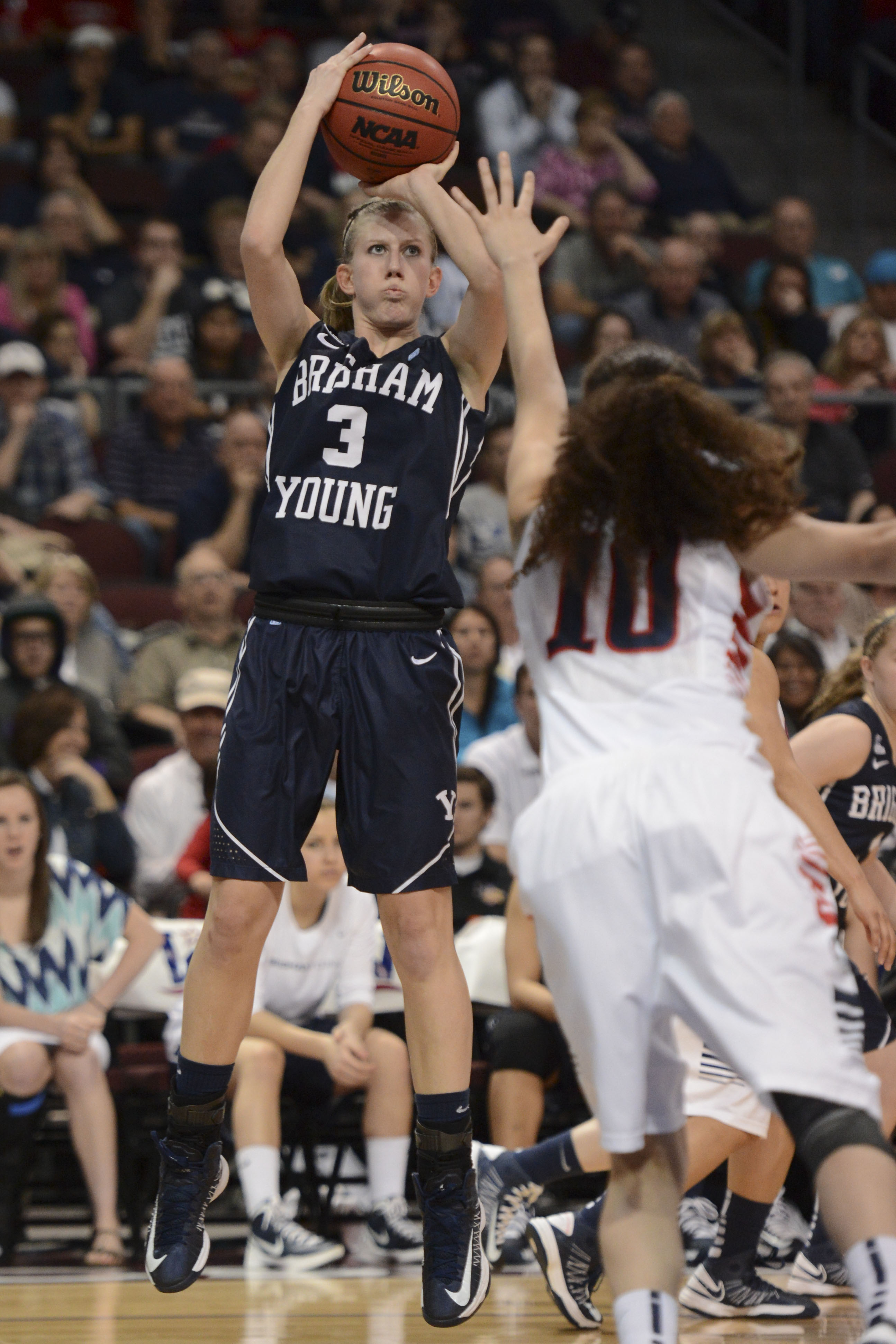 Ashley Garfield leaves a legacy of being a hard worker and a key part of the Cougars success.