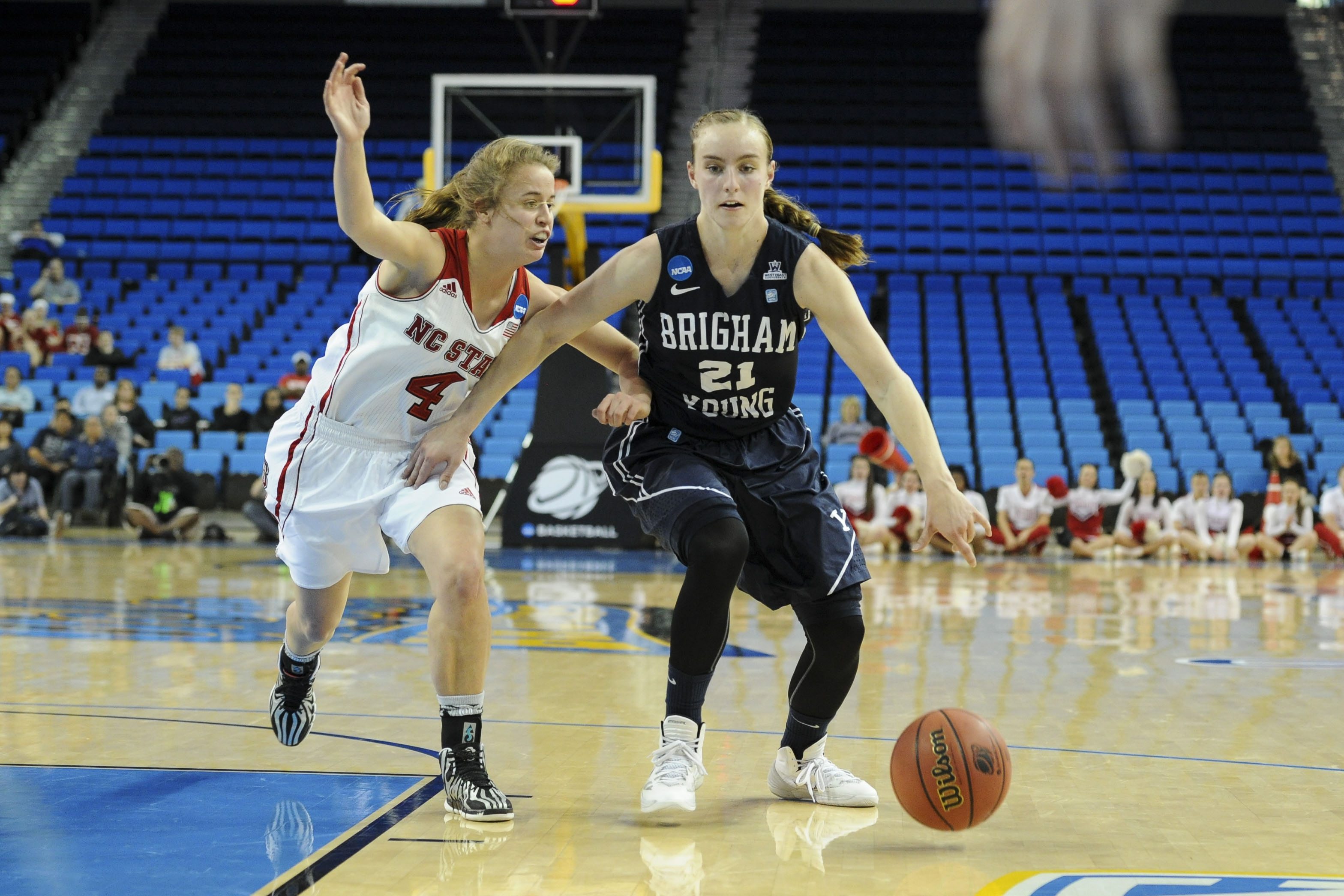 Lexi Eaton led BYU in scoring on their road trip.