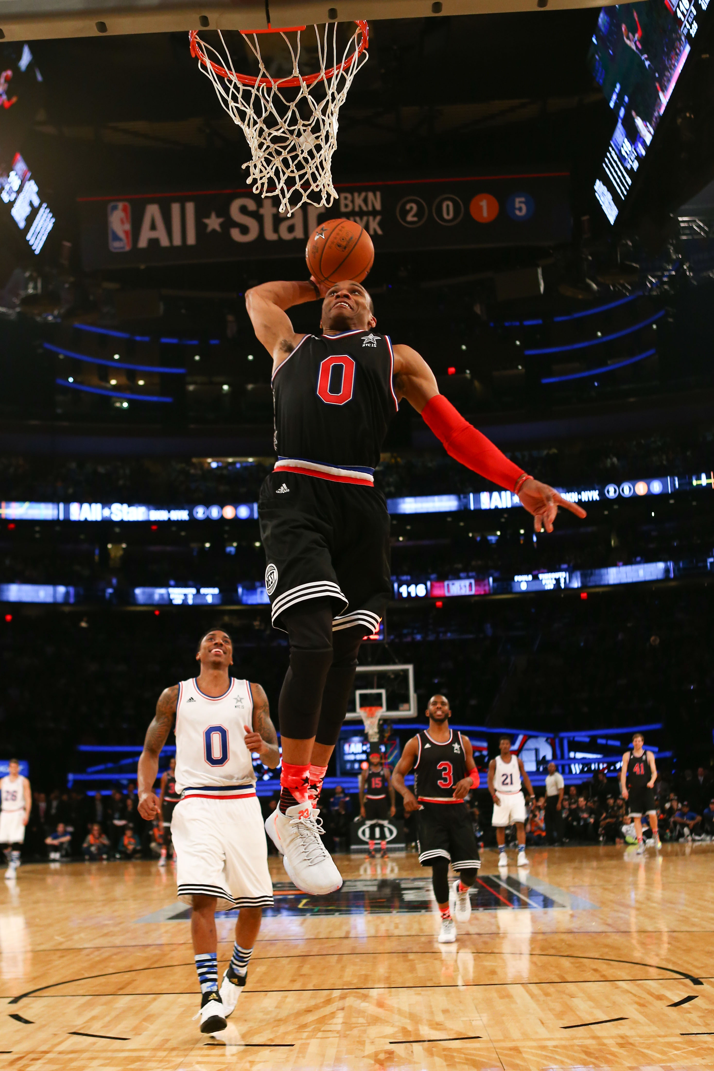 Russell Westbrook takes control in All-Star performance for the ages