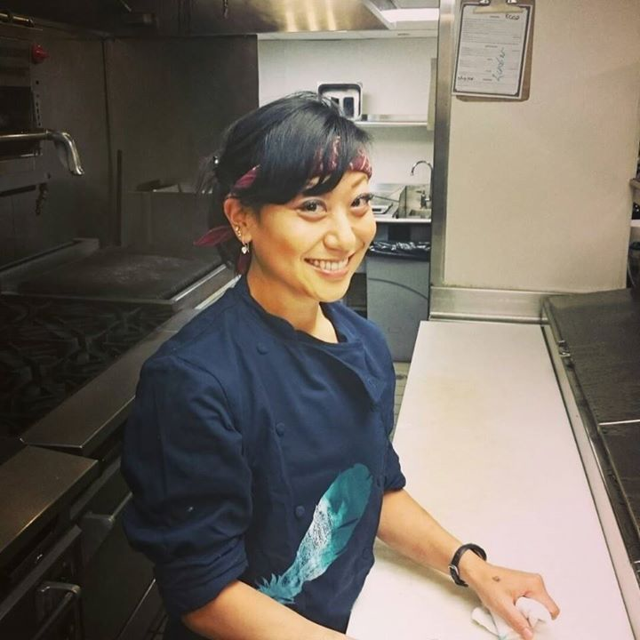 Moonshine 152's chef-owner Asia Mei