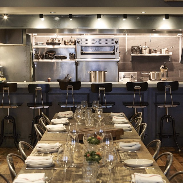 Barbuzzo's upstairs private event space will play host to Marzinsky's dinner series.