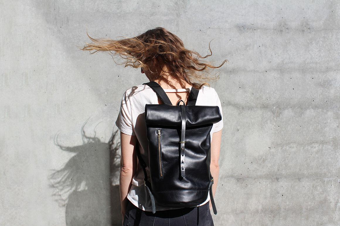 """Future Glory Co. backpack, <a href=""""http://futureglory.co/collections/current/products/moto-backpack"""">$275</a>"""