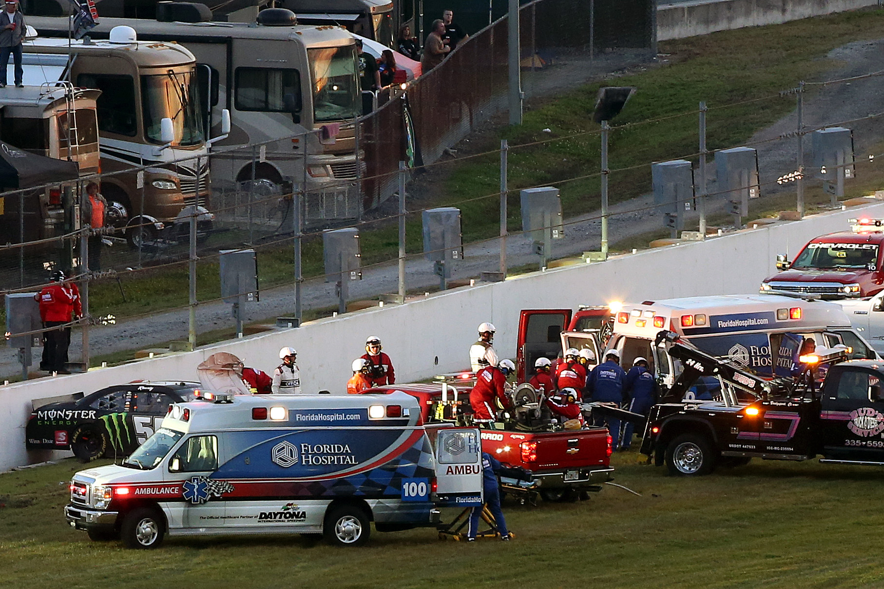 NASCAR's stance on safety rings hollow without more action