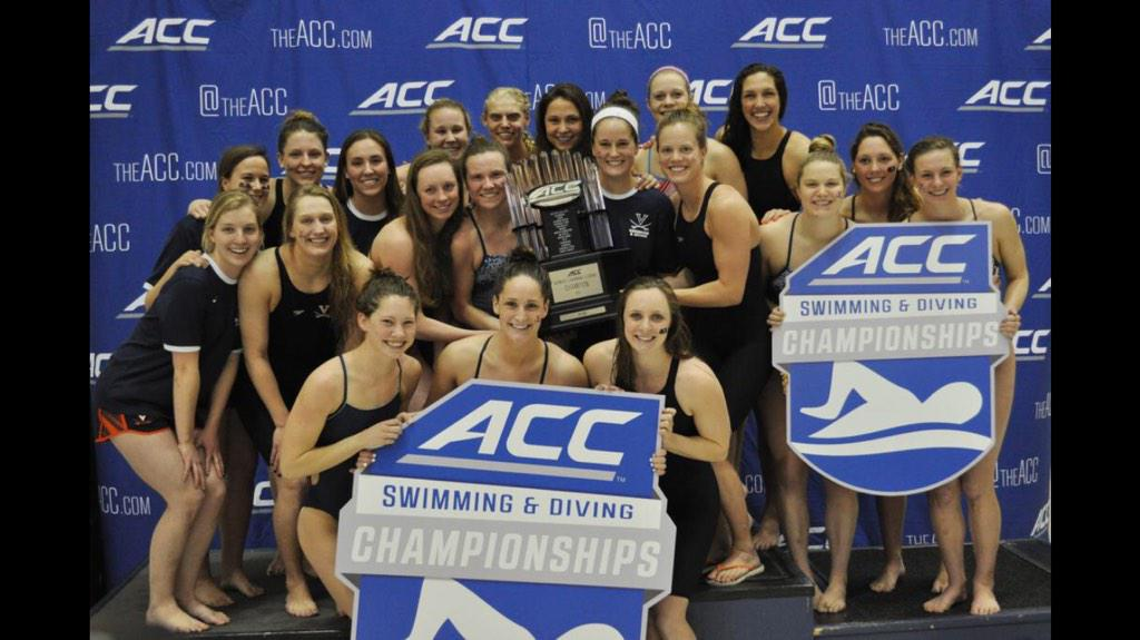 UVA Assistant Coach Sam Busch tweeted this picture out of the ACC champion team