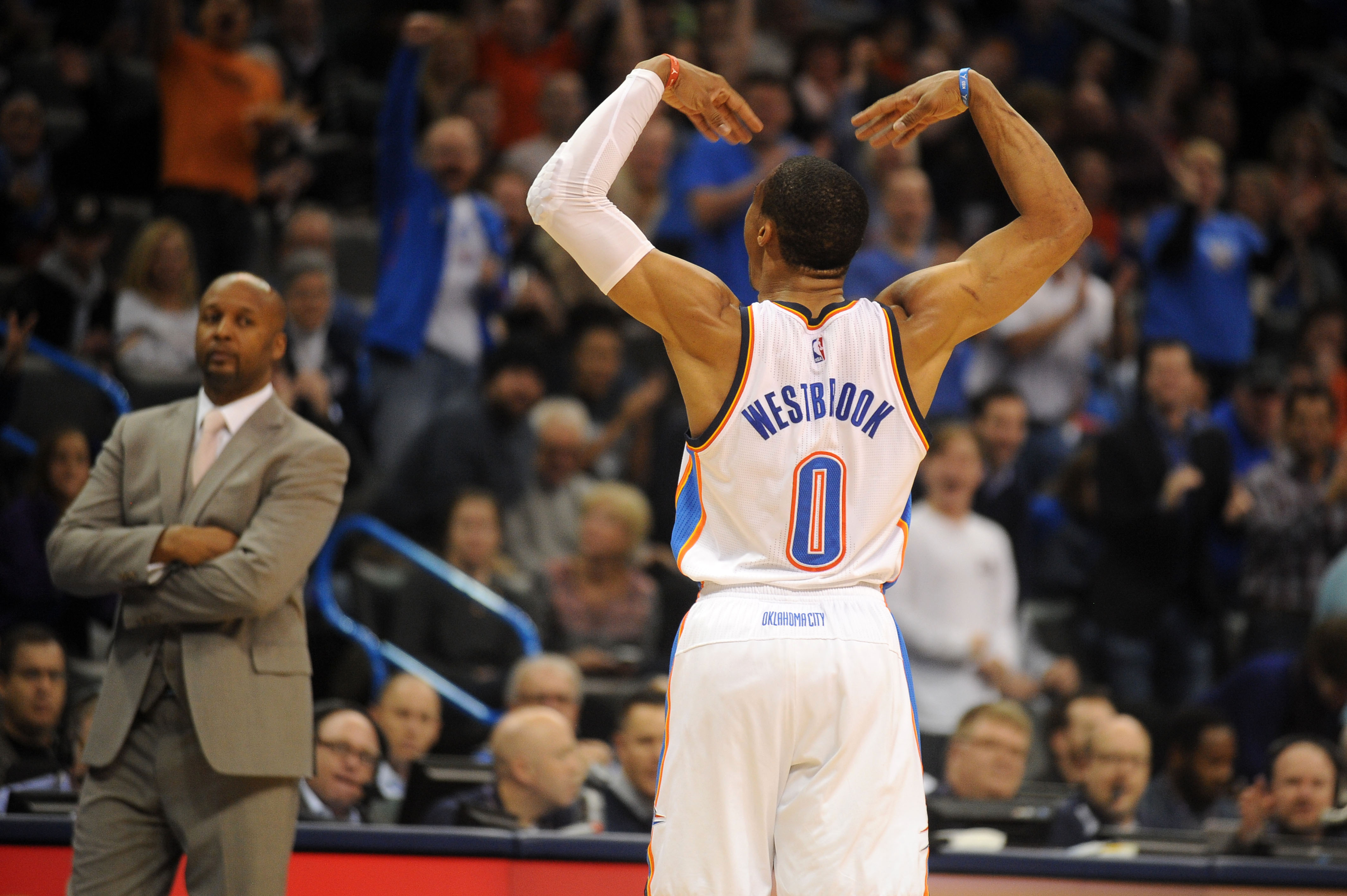 Russell Westbrook was completely ridiculous again
