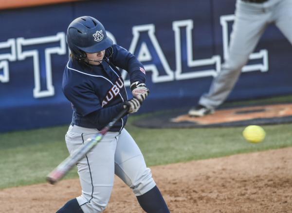 Carlee Wallace Auburn Softball vs Georgia State on Wednesday, February 18, 2015 in Auburn, Ala.