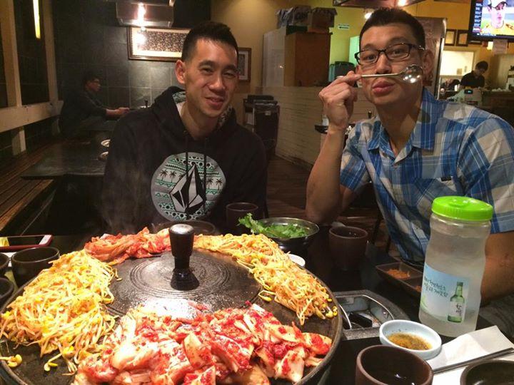 Jeremy Lin at Honey Pig